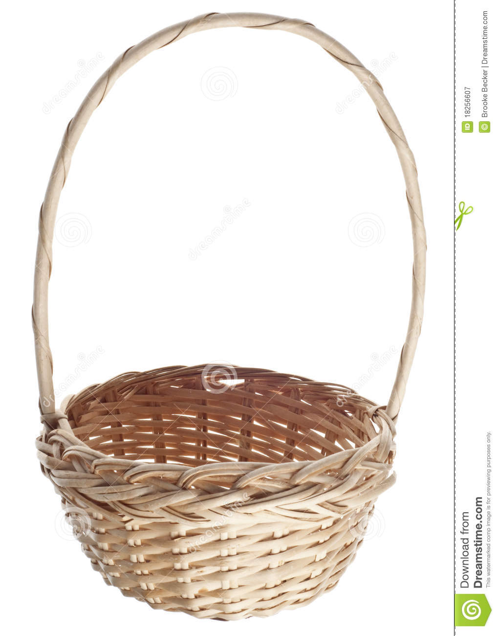 Empty Easter Basket Stock Image Of Concept Photography
