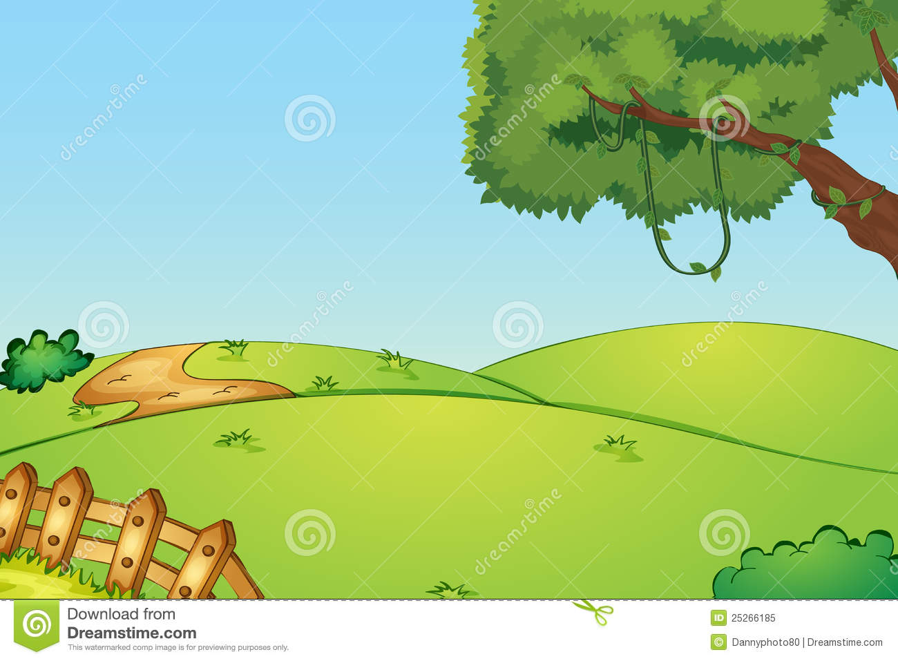 Empty Field Royalty Free Stock Photo - Image: 25266185