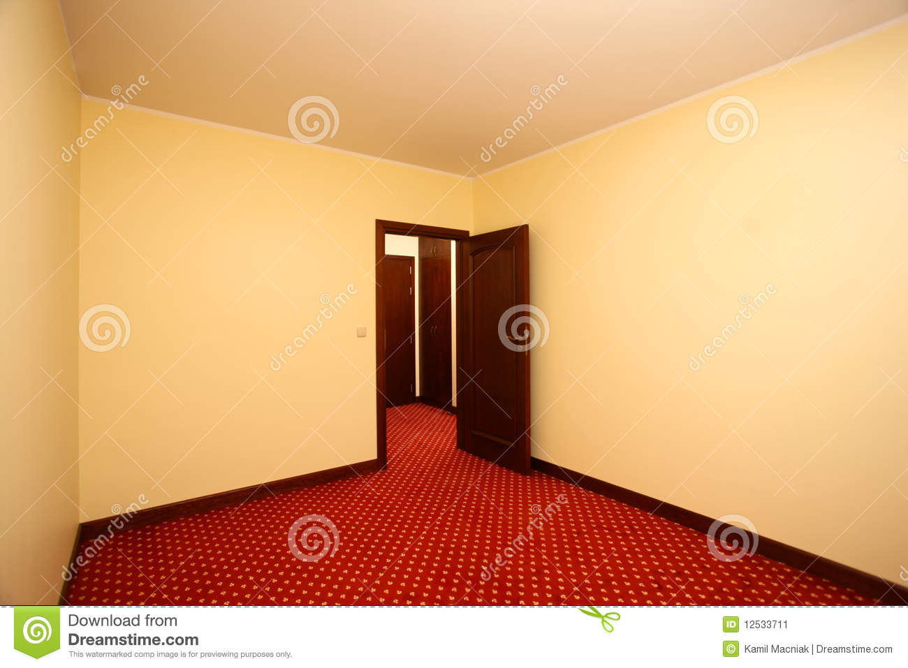 Picture Of A Nice Empty Room For Rent