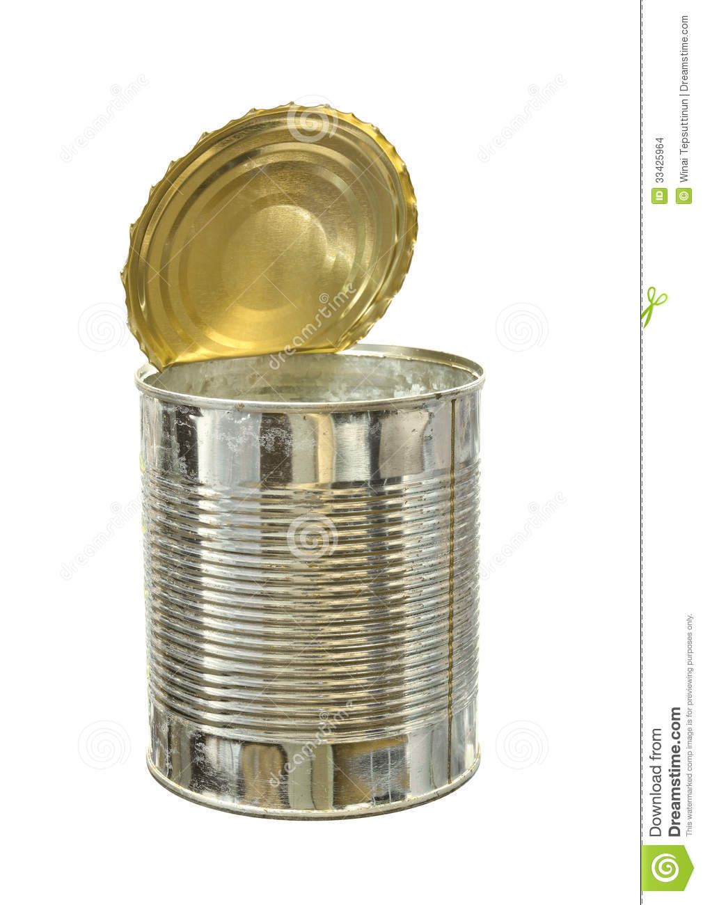 Empty Food Can Stock Photo Image Of Storage Recycle
