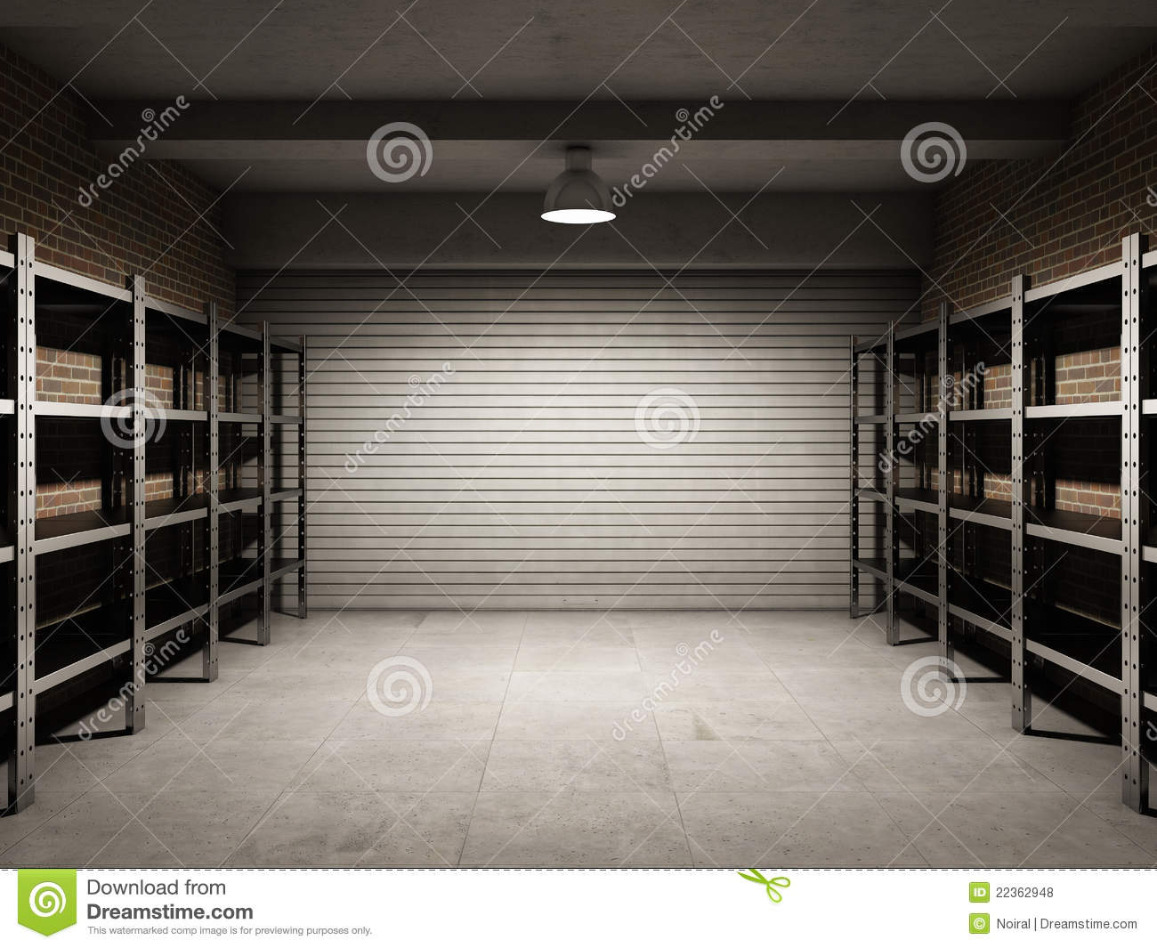 empty garage royalty free stock photos   image 22362948