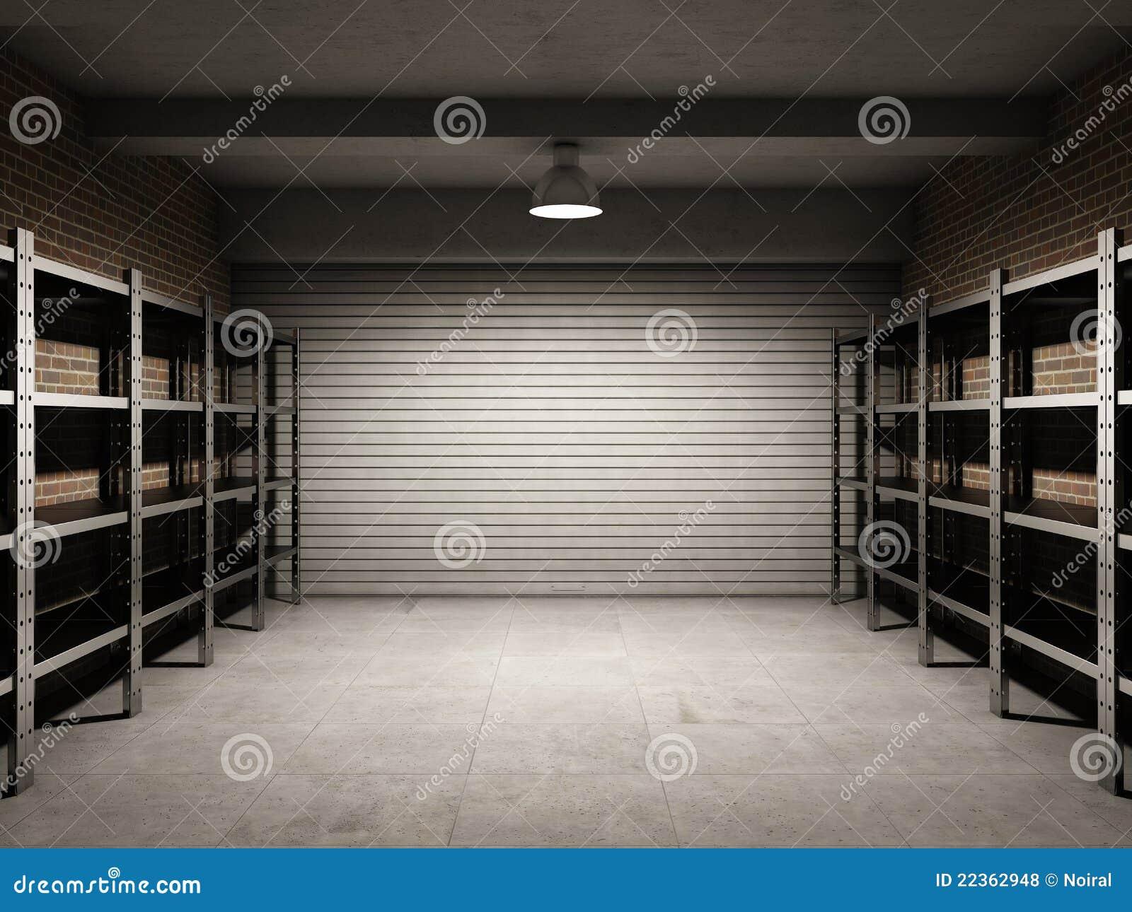 Empty Garage Royalty Free Stock Photos - Image: 22362948