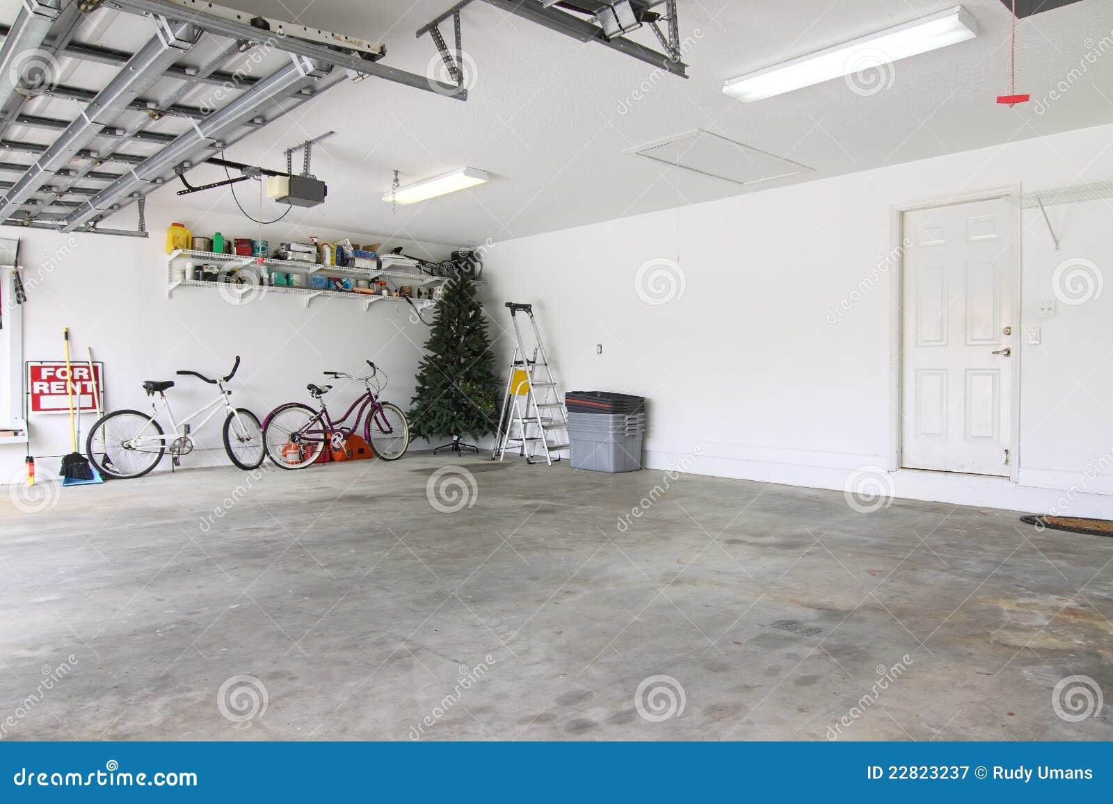 Almost empty garage