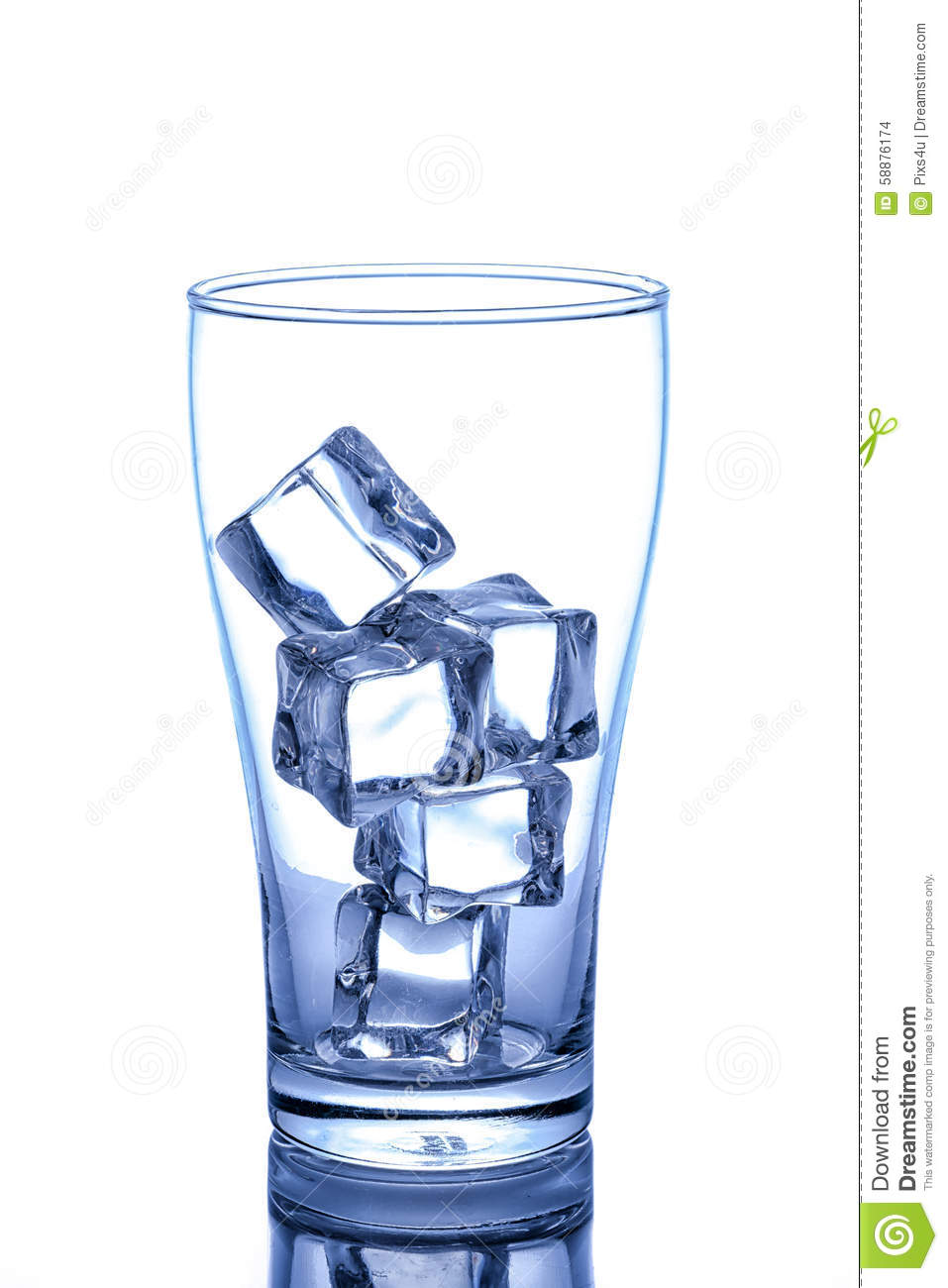empty glass with ice cube stock photo image 58876174 ice cube clip art svg ice cube clip art preschool