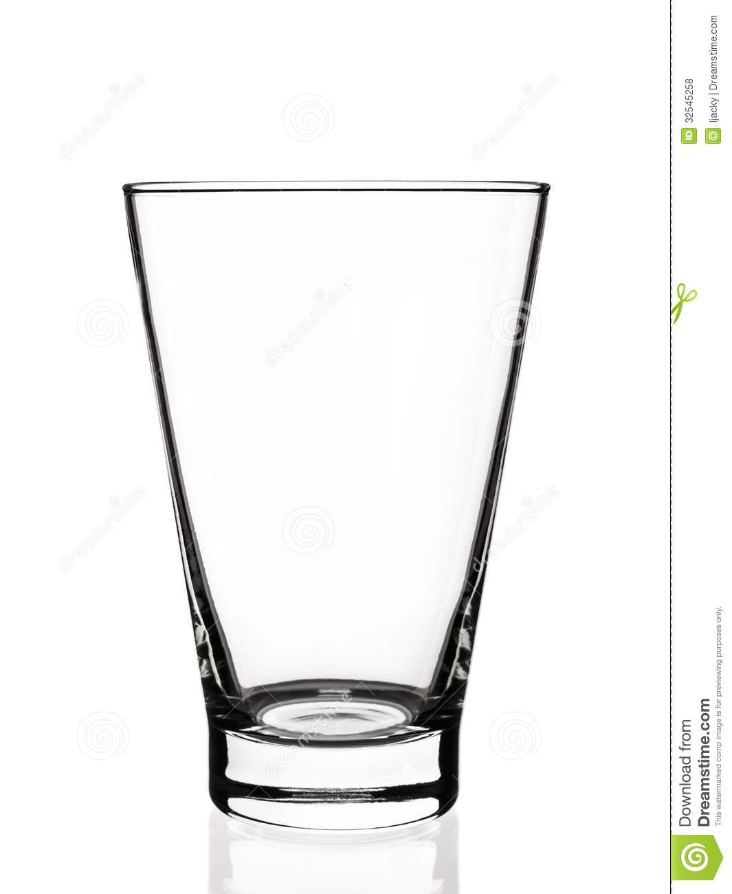 Empty Glass Royalty Free Stock Photos - Image: 32545258
