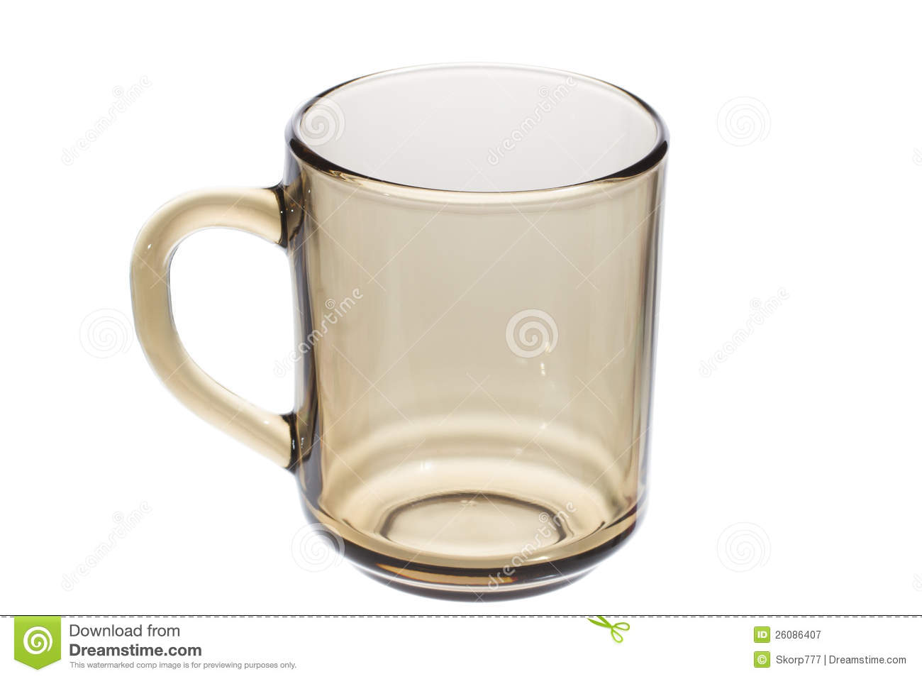 Empty Glass Tea Cup Royalty Free Stock Photography - Image ...