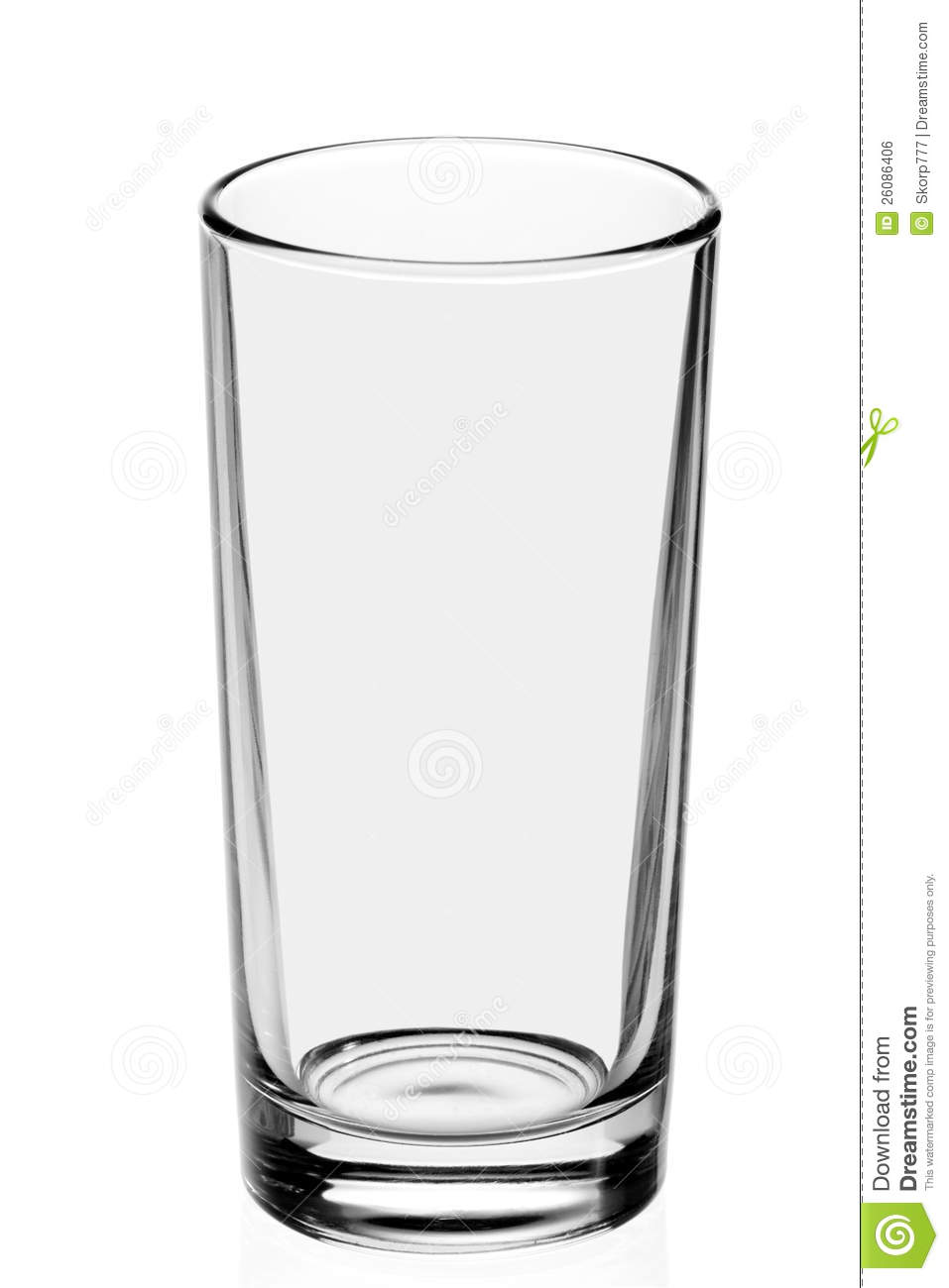 Https Www Dreamstime Com Royalty Free Stock Image Empty Glass White Background Image26086406