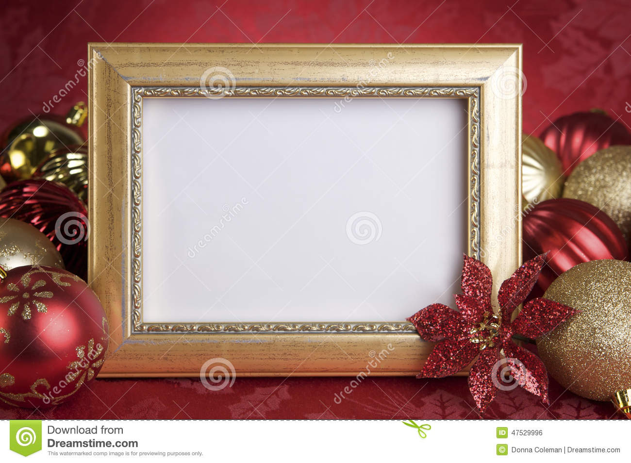 Frame Christmas Ornaments