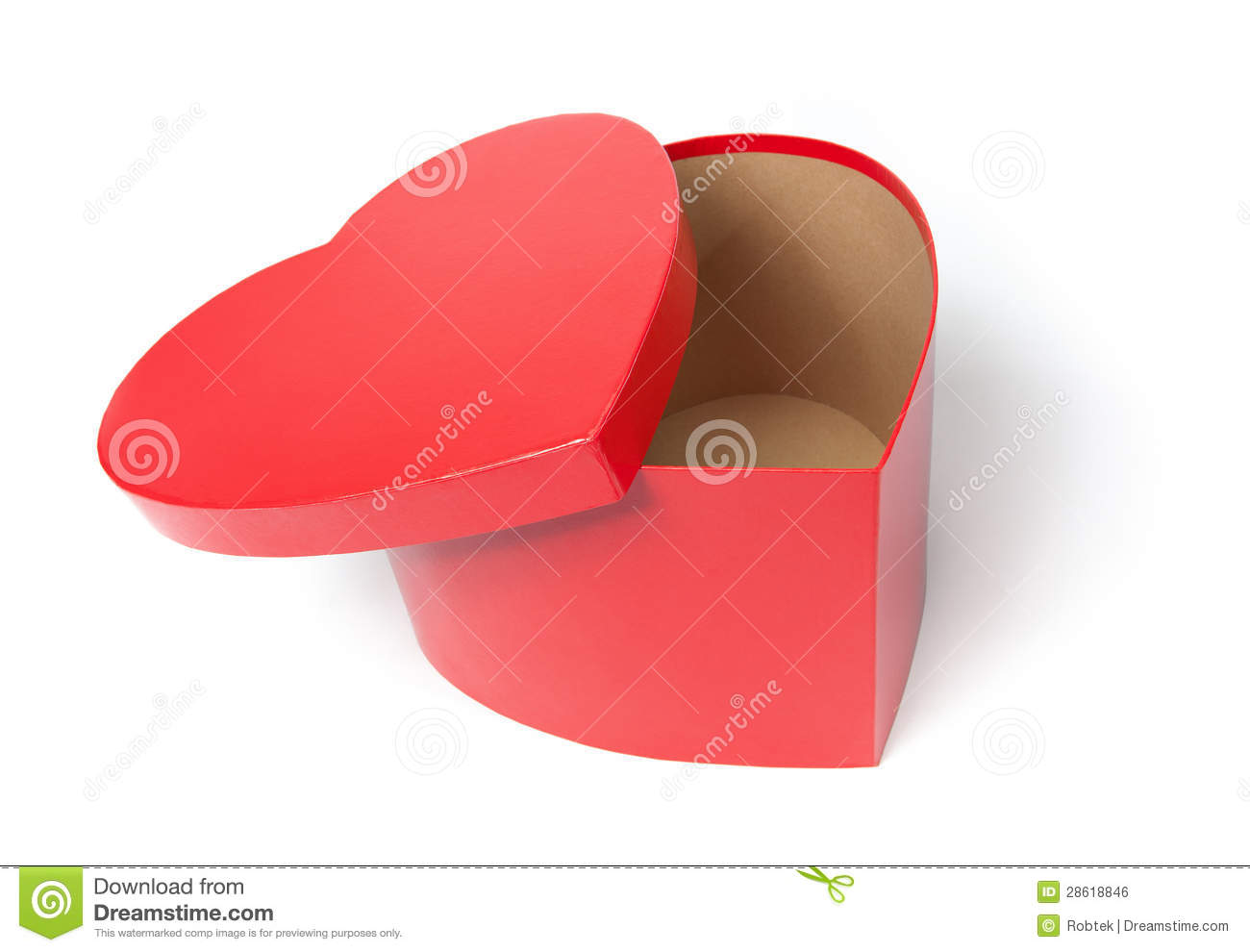 Empty heart shaped box stock photo image of heart cardboard 28618846 empty heart shaped box ccuart Image collections