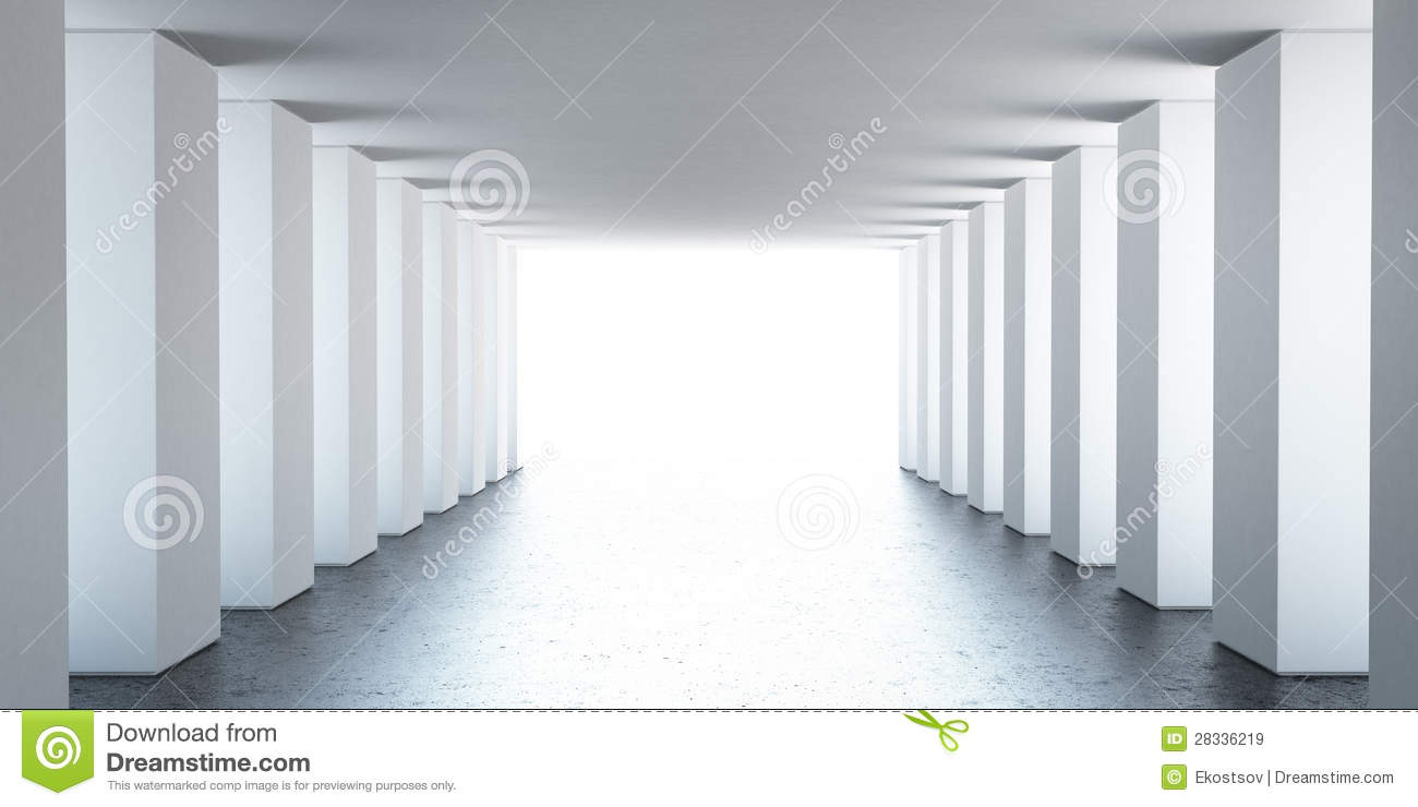Empty interior with columns royalty free stock images for Innenraum designer programm