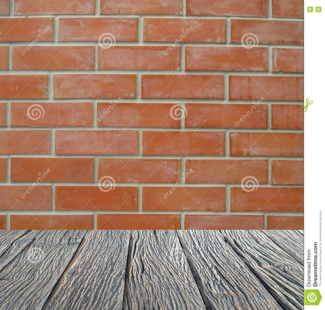 Empty Interior For Design Wood Floor Brick Wall Empty Room Space For Text And Picture Design Ideas And Style Stock Image Image Of Ideas Blue 81455421