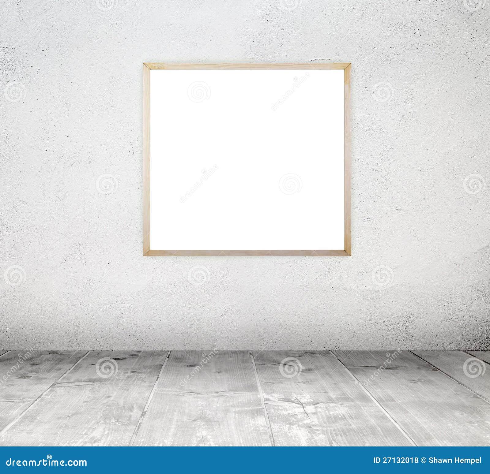 concrete empty frame grunge interior