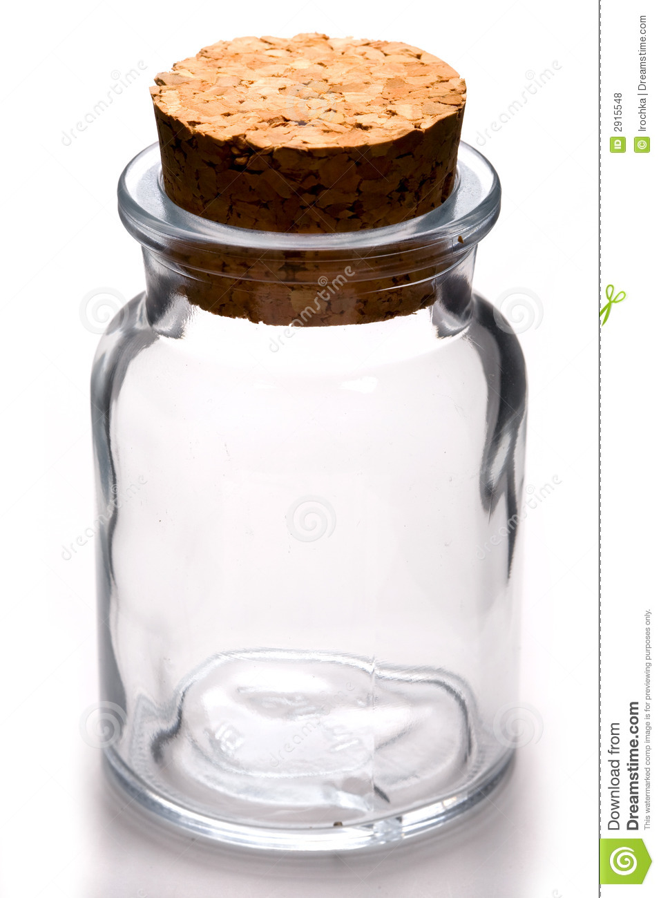 Empty Jar Royalty Free Stock Photos Image 2915548
