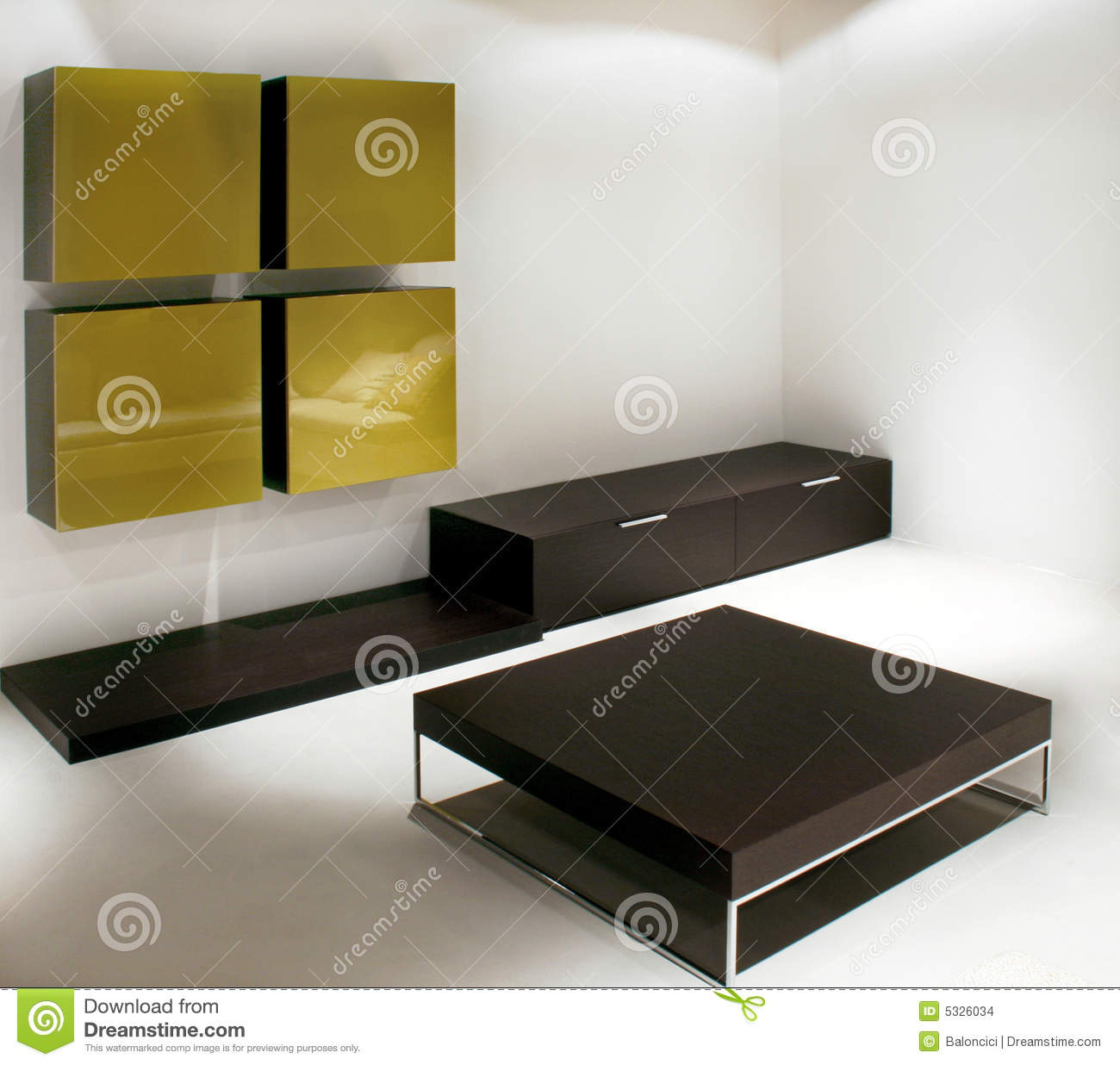 Empty Living Room: Empty Living Room Stock Images
