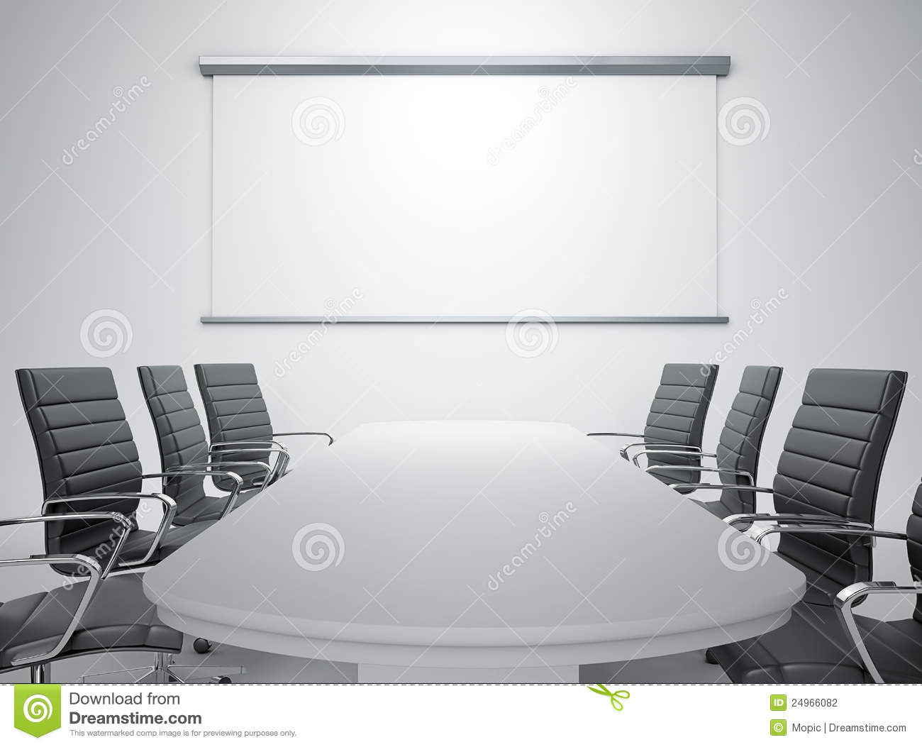 Empty Meeting Room Stock Photography - Image: 24966082