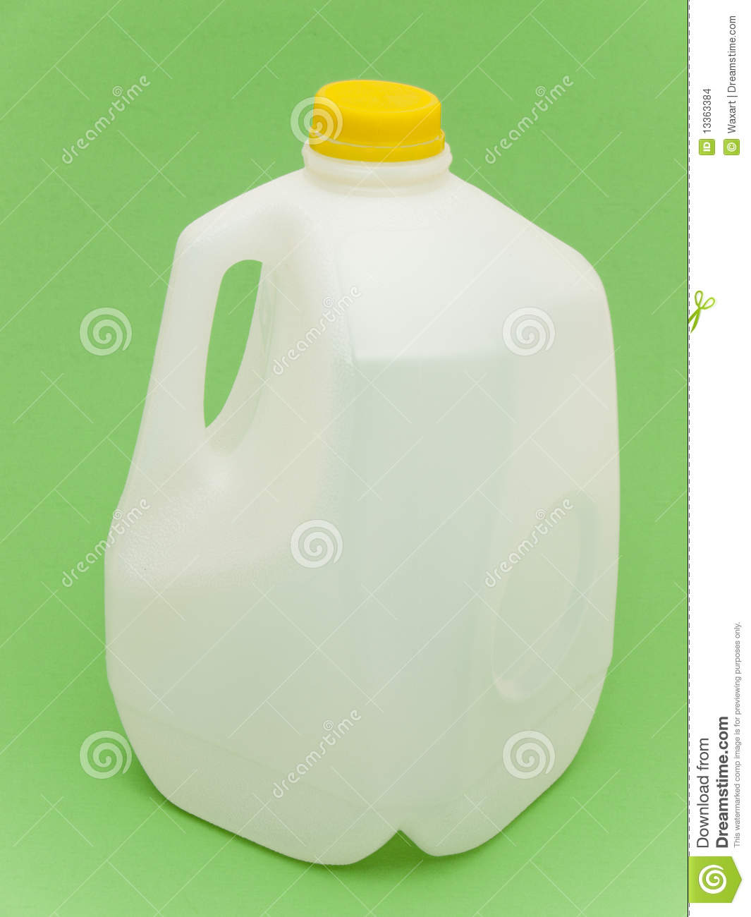 Empty Milk Carton For Recycling Stock Photo - Image: 13363384