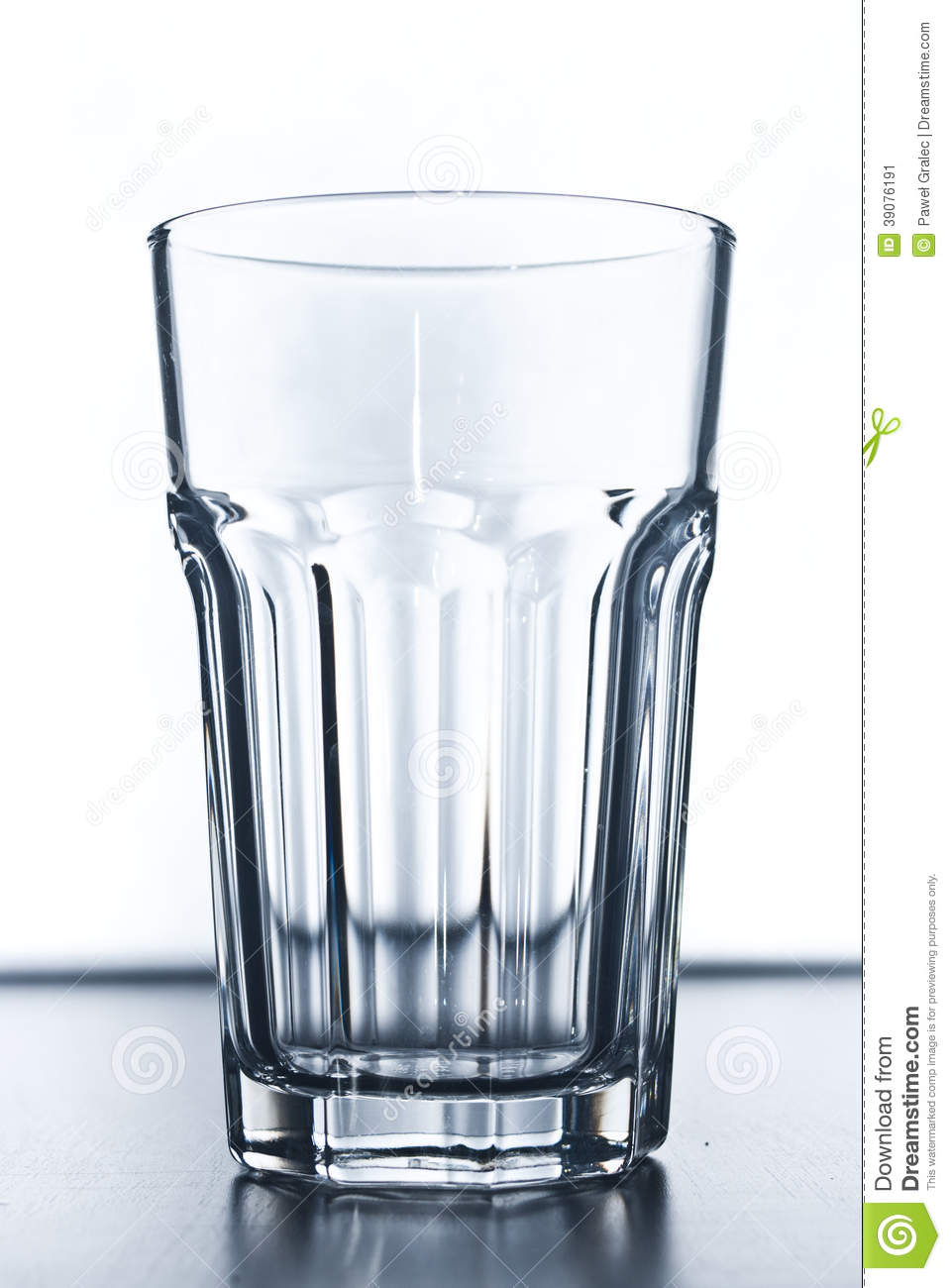 empty modern drinking glass stock photo  image  - empty modern drinking glass