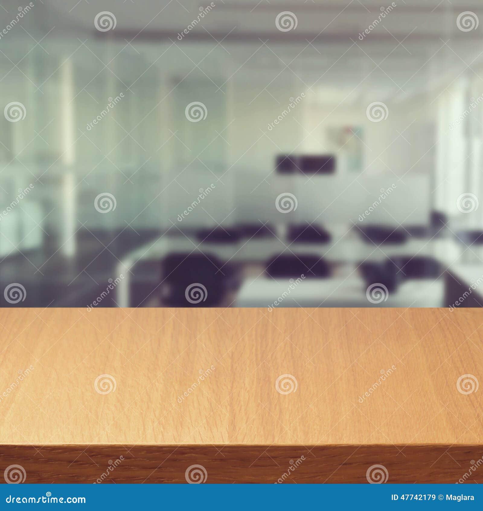 Empty Modern Office Desk Stock Image Image Of Backdrop 47742179