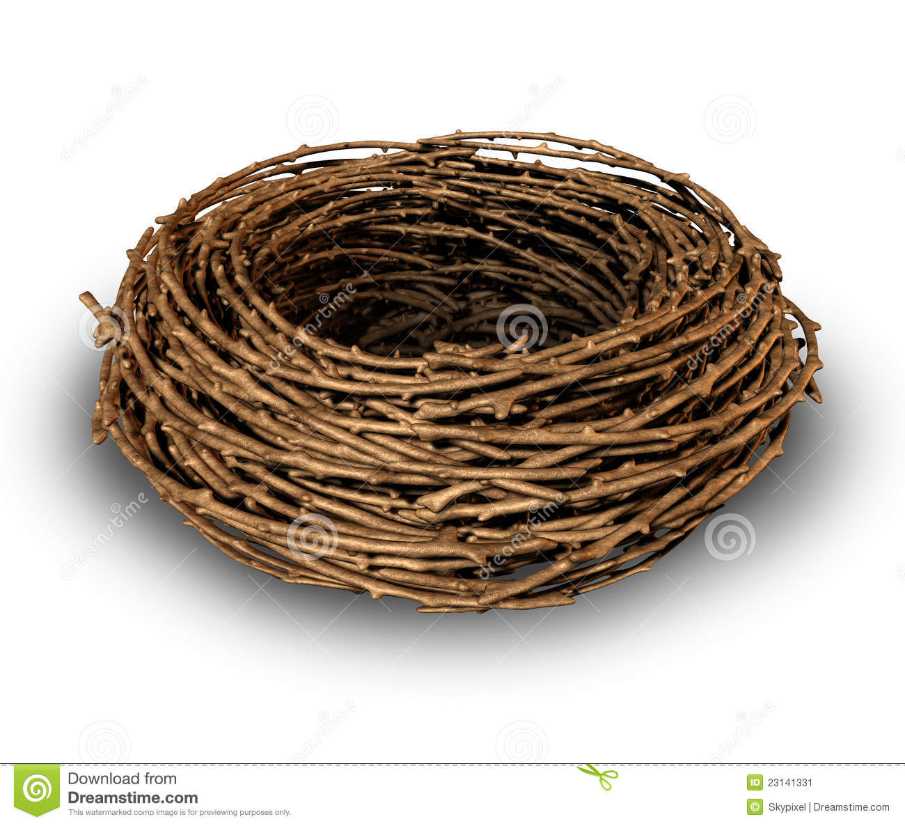 Empty nest as a symptom of children growing up and leaving the family ...