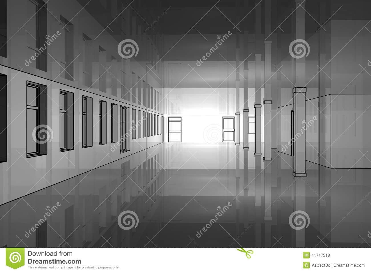 Empty Office Royalty Free Stock Photos Image 11717518