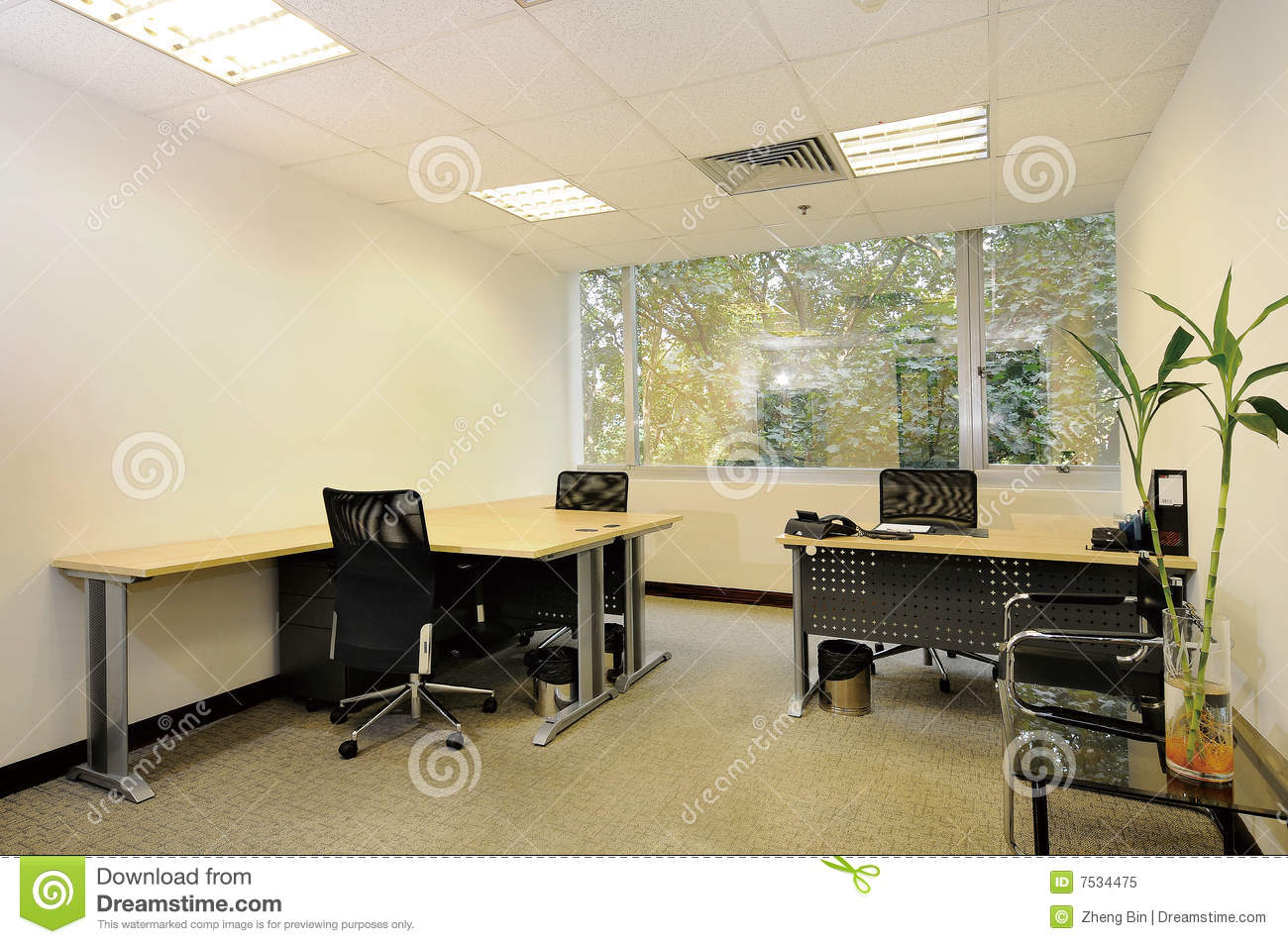 Empty Office Room Stock Image Image Of Restaurant Lunch