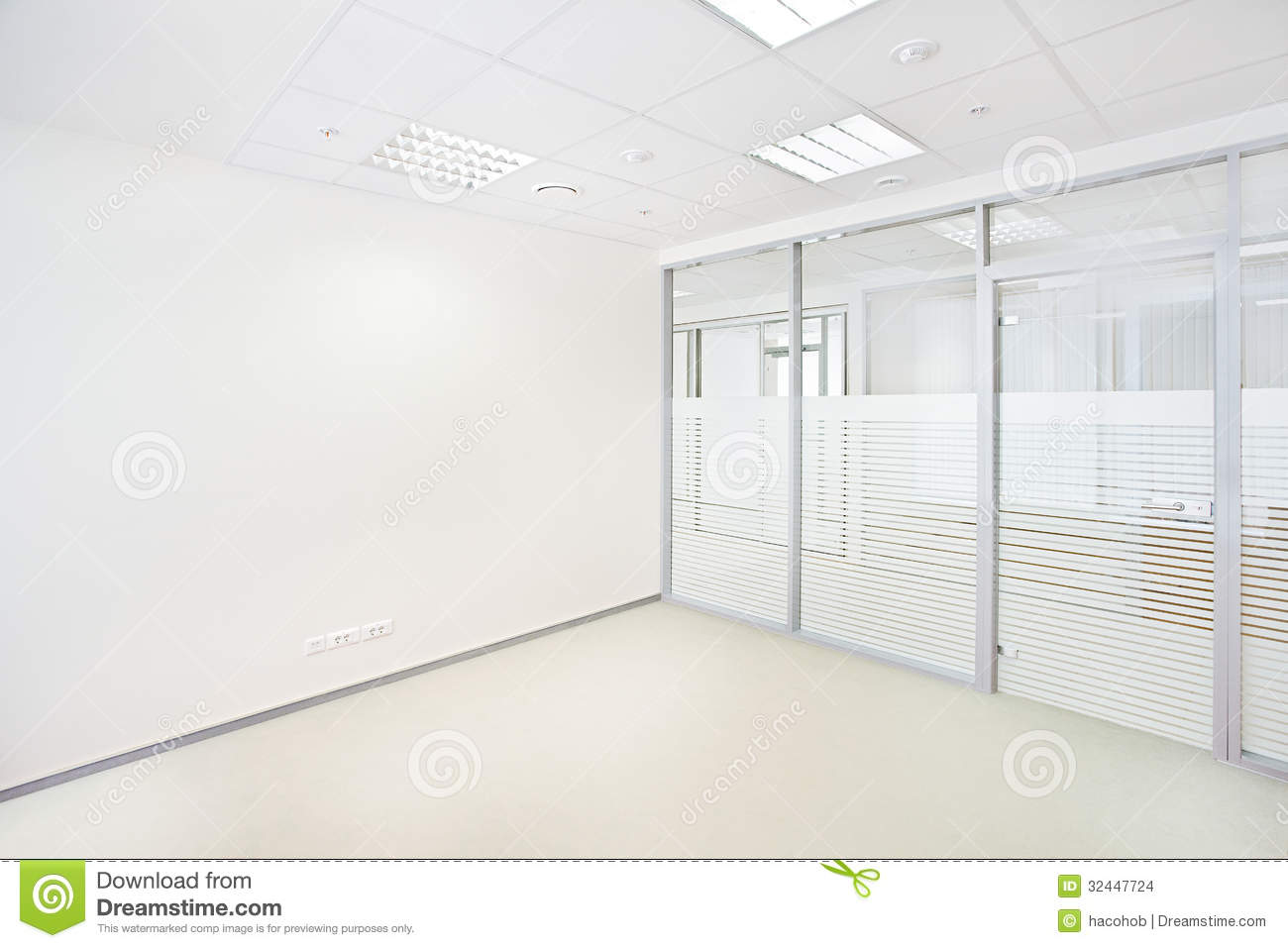 Empty Office Room Stock Images Image 32447724