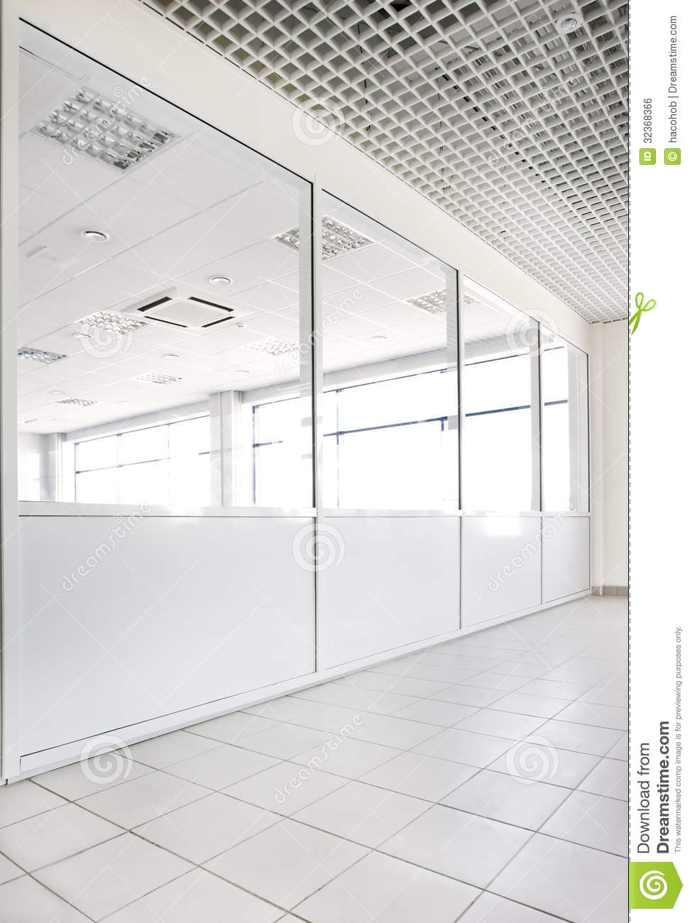Empty Office Room Royalty Free Stock Image Image 32368366