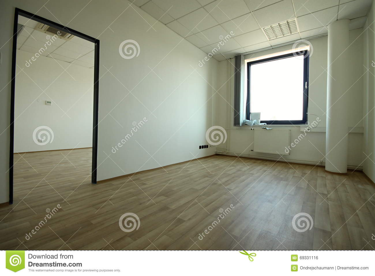 Empty Office Space Stock Photo Image 69331116
