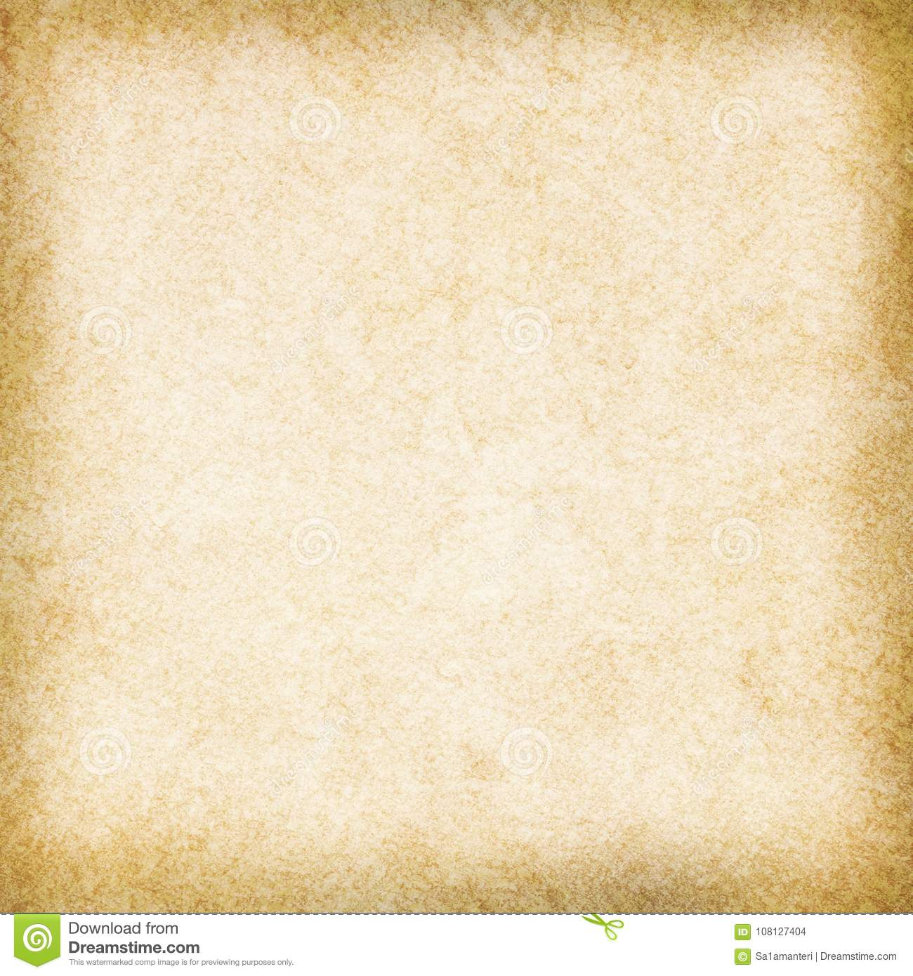 Empty Old Paper Vintage Background Stock Illustration - Illustration of  empty, grungy: 108127404