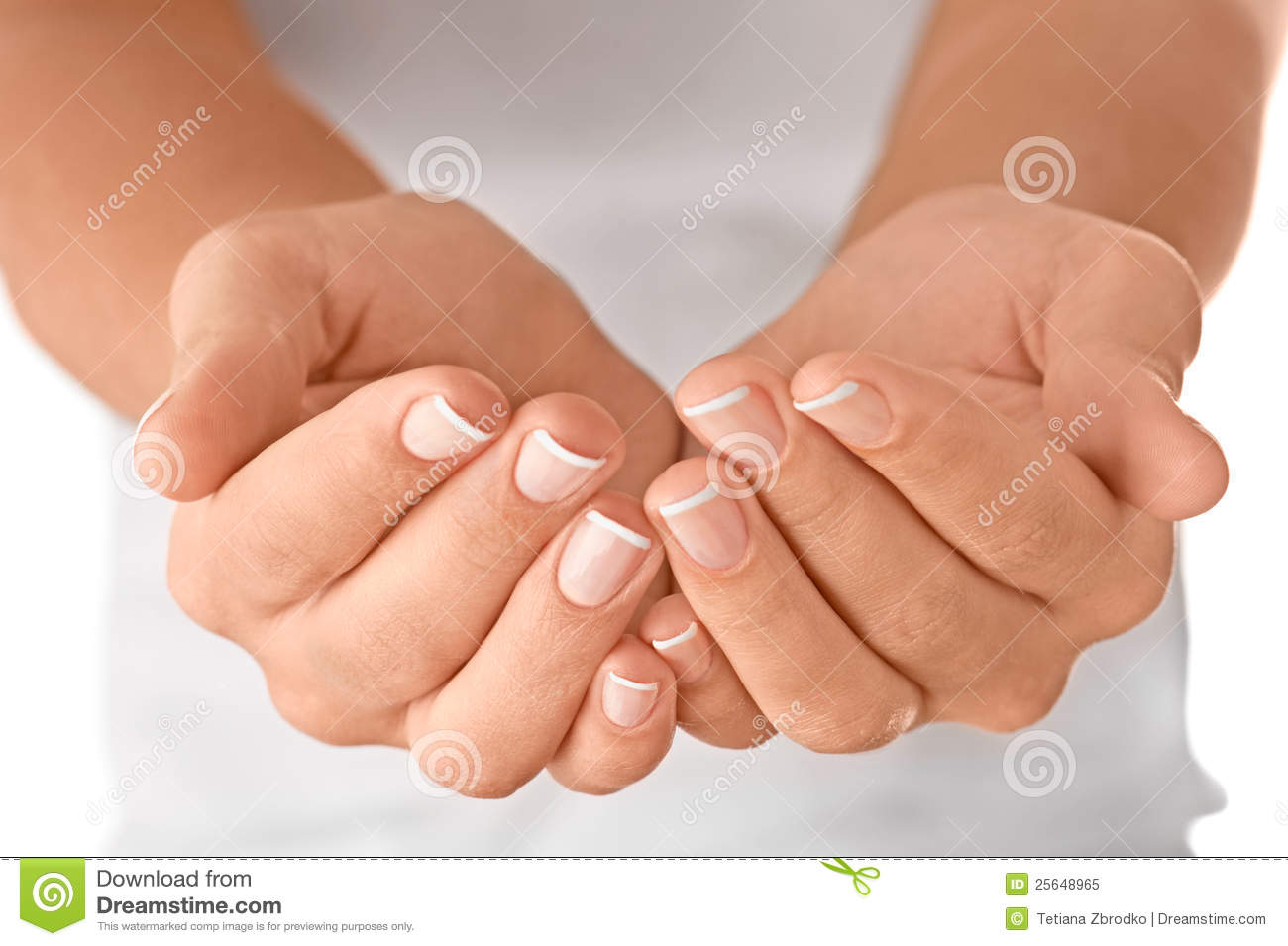 Empty Open Hands Royalty Free Stock Photo - Image: 25648965