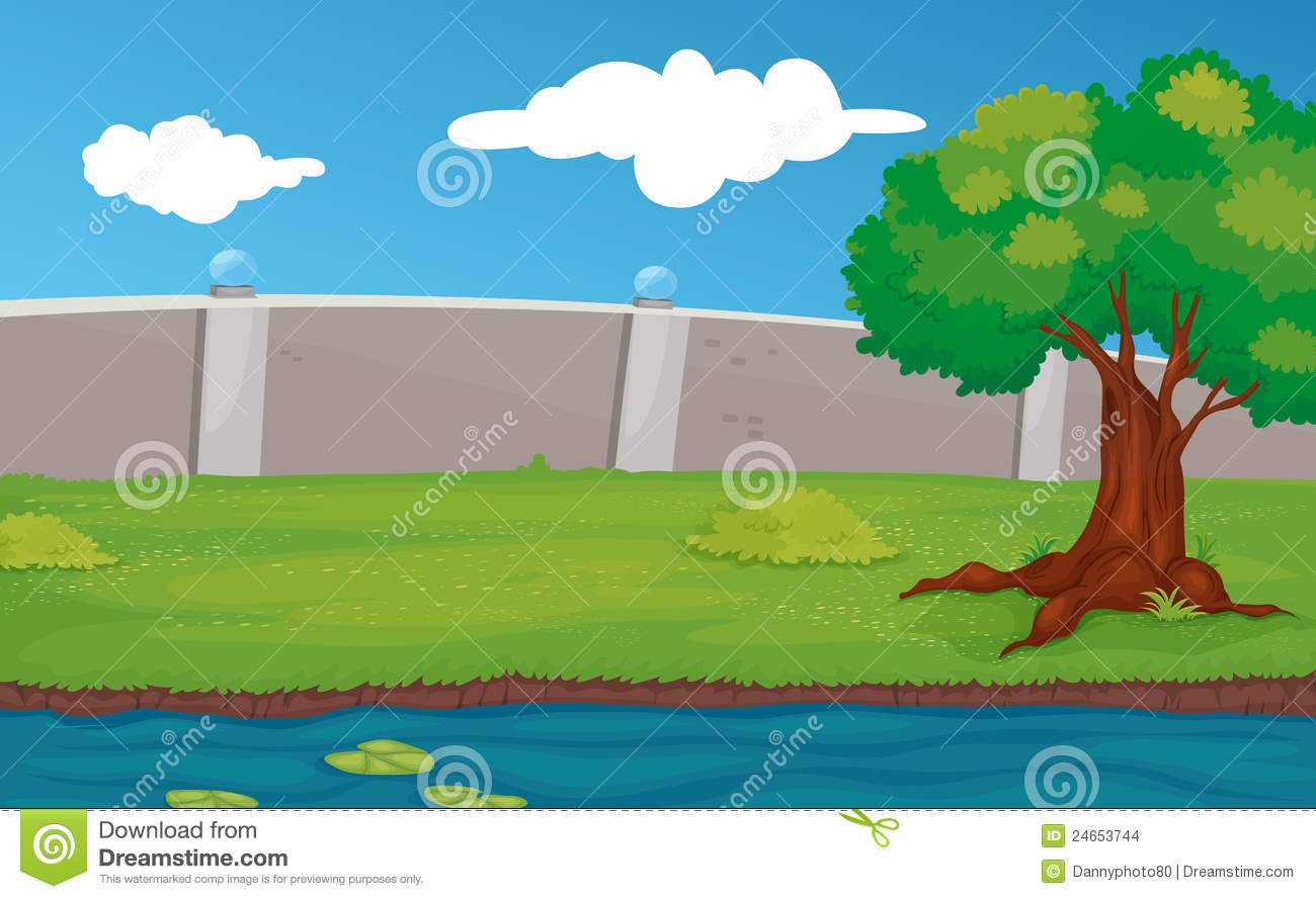 Empty Park Scene Stock Images - Image: 24653744