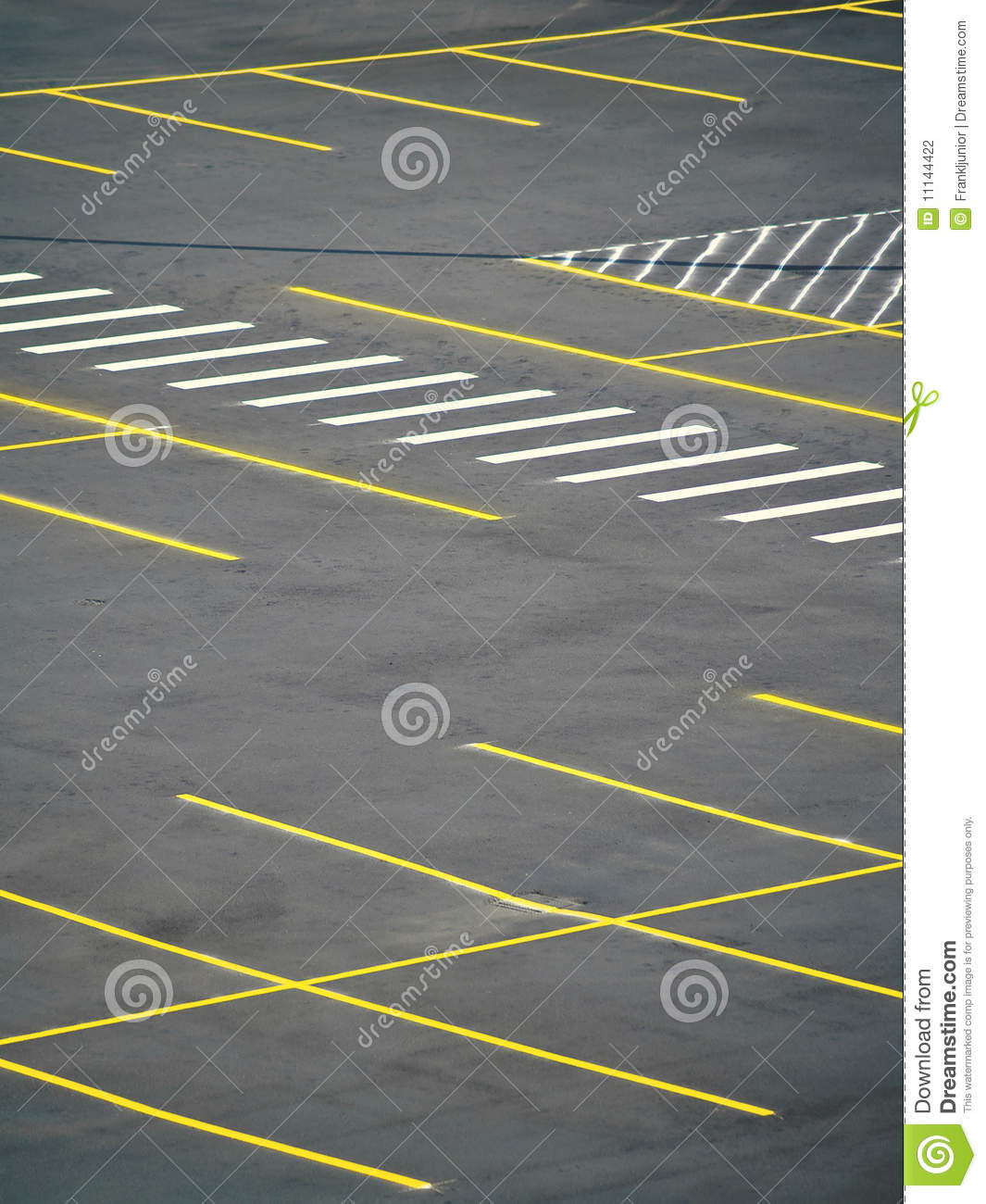 Empty Parking Lot Stock Photo. Image Of Exterior, Airport