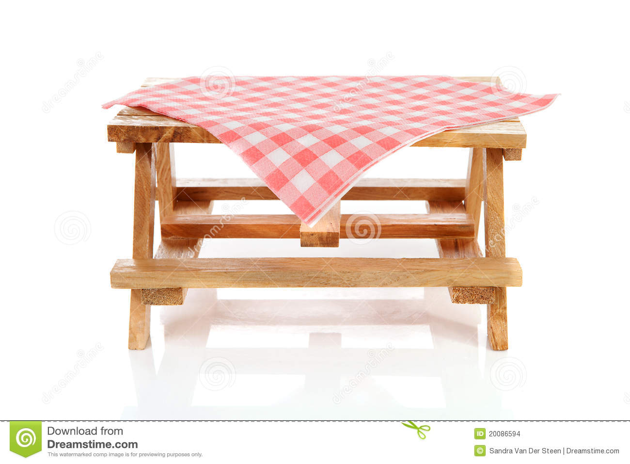 Picnic Table Clip Art Empty picnic table with