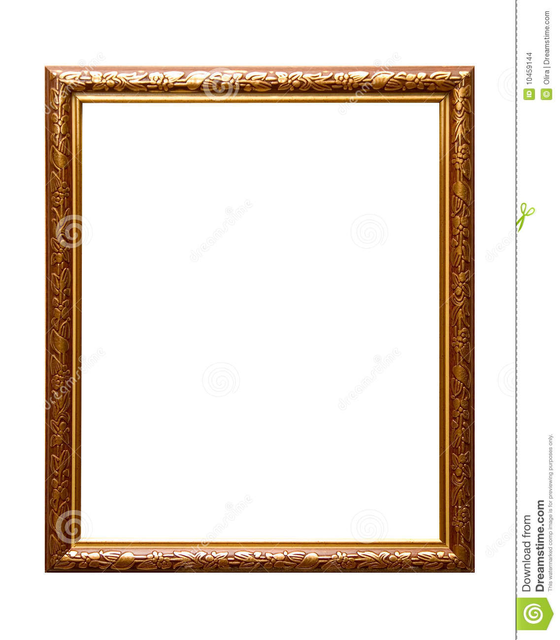 Empty Picture Frame Stock Images - Image: 10459144