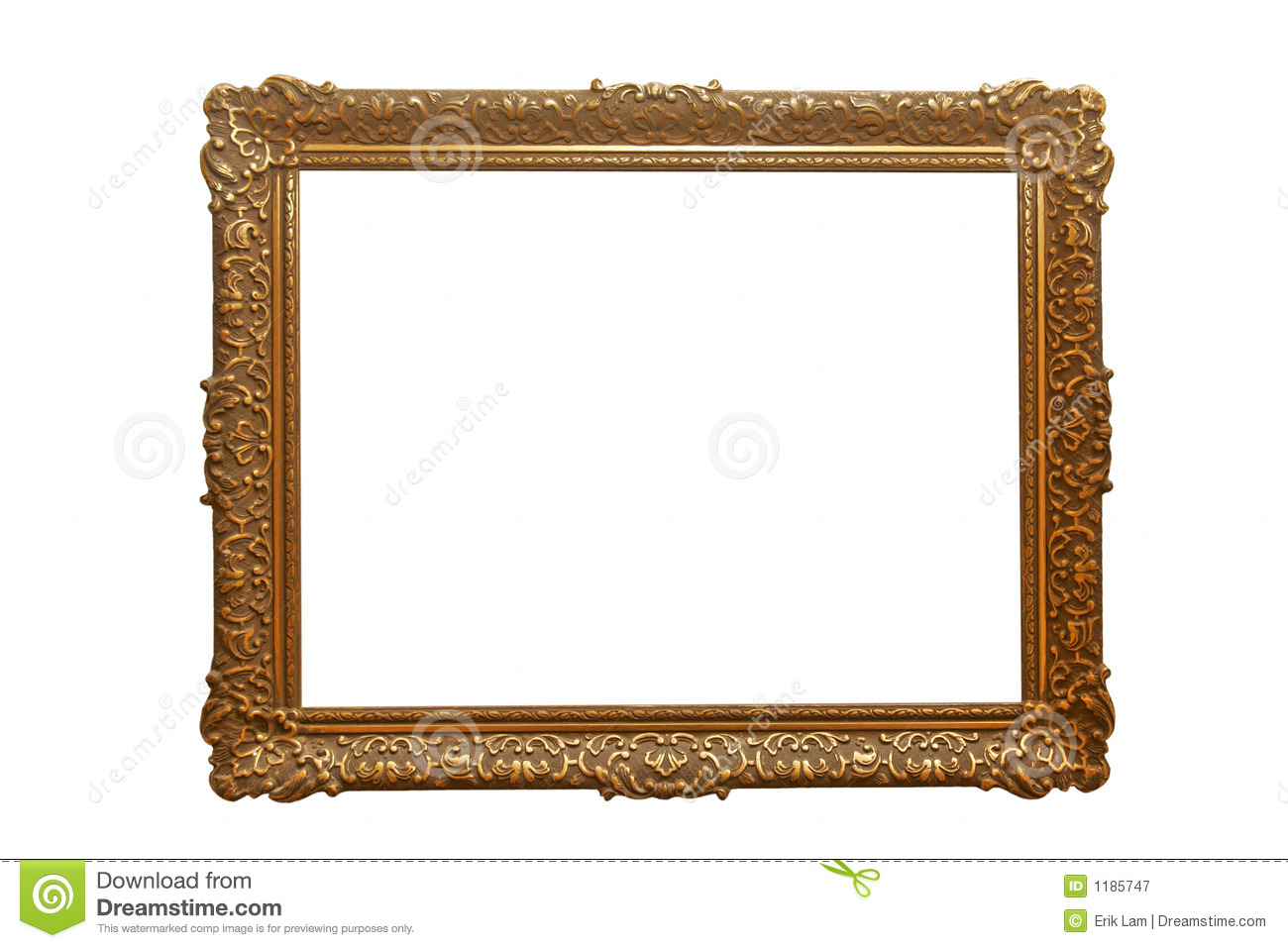 Empty picture frame royalty free stock photography image for What to do with empty picture frames