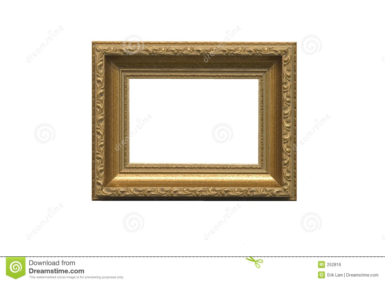 Empty Picture Frame Royalty Free Stock Image - Image: 252816