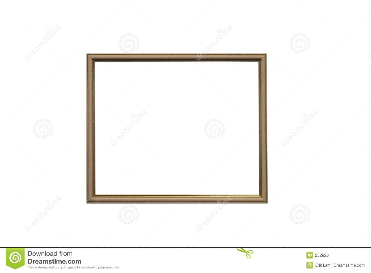 Empty picture frame stock photo image 252820 for What to do with empty picture frames