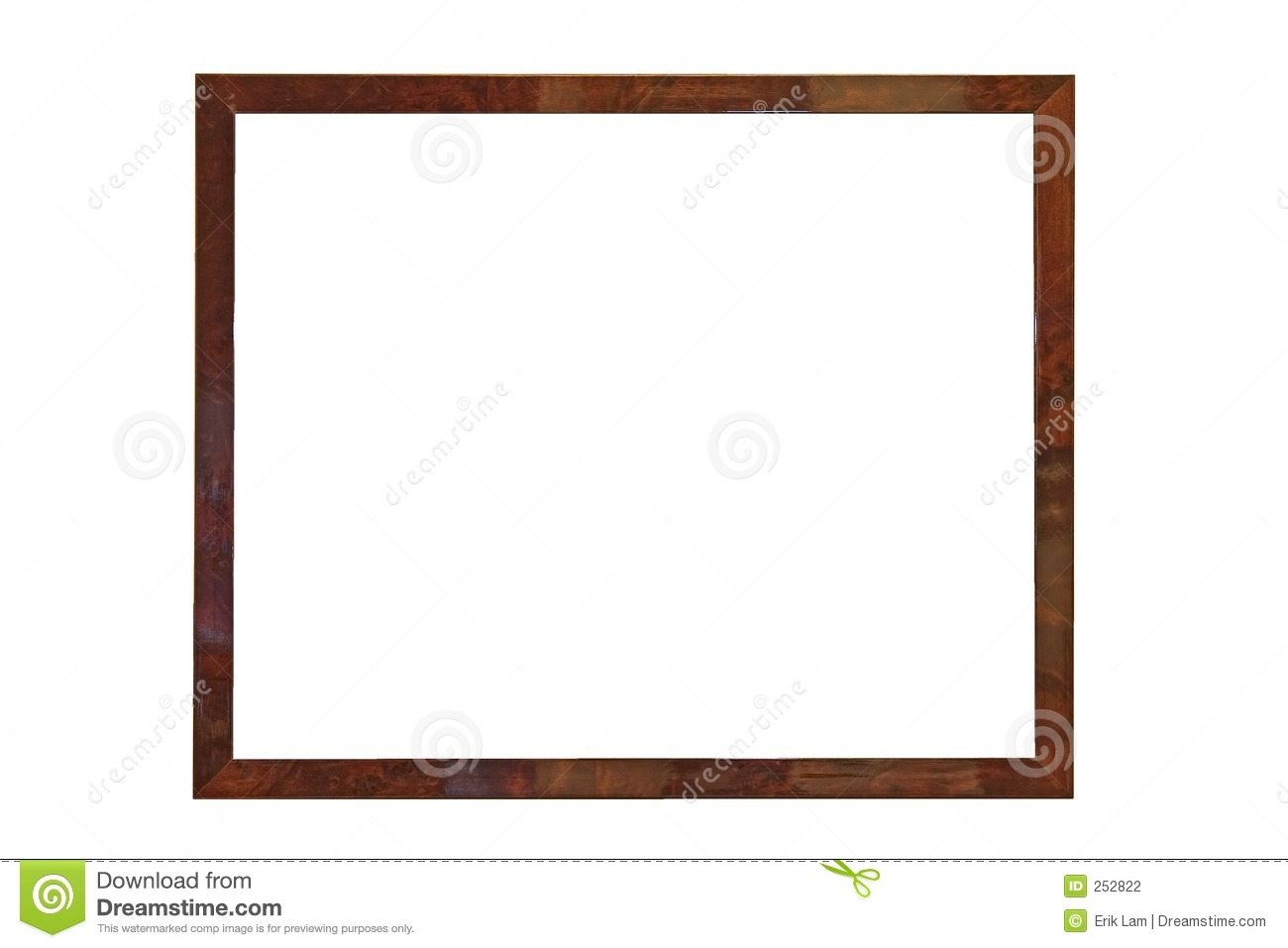 Empty Picture Frame Stock Photography - Image: 252822