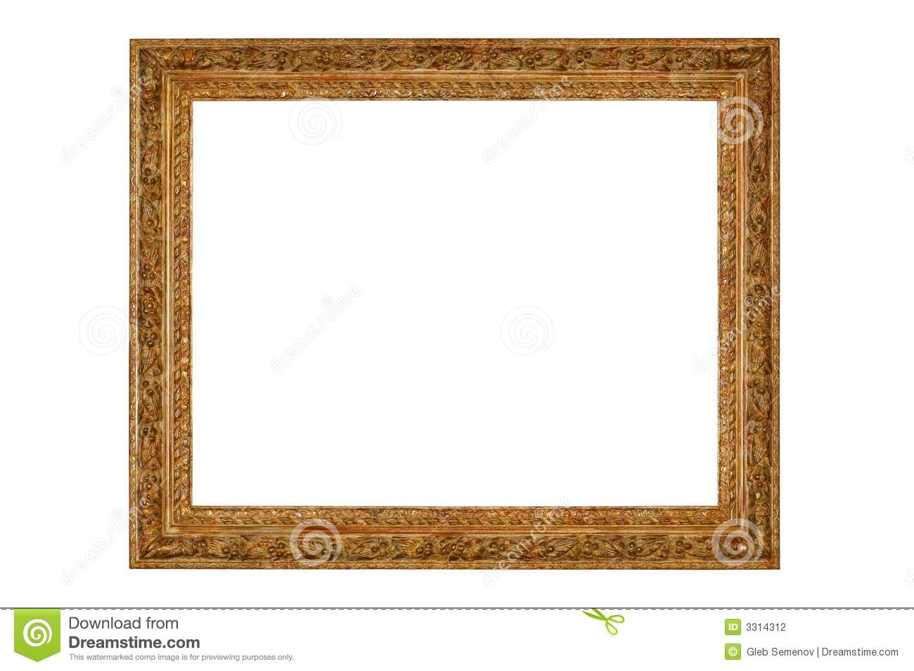 Empty picture frame stock photography image 3314312 for What to do with empty picture frames