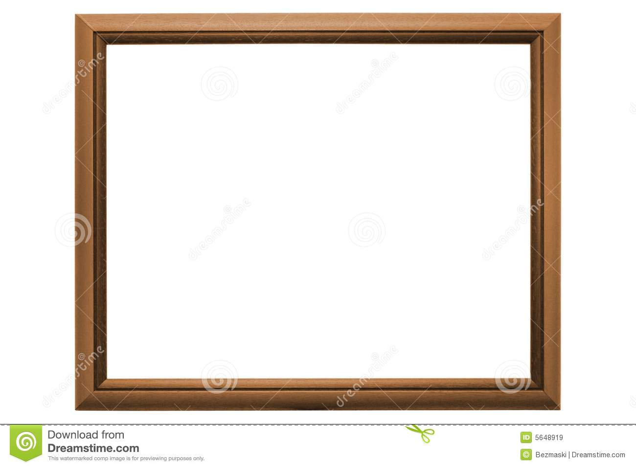 Empty Picture Frame Royalty Free Stock Images - Image: 5648919