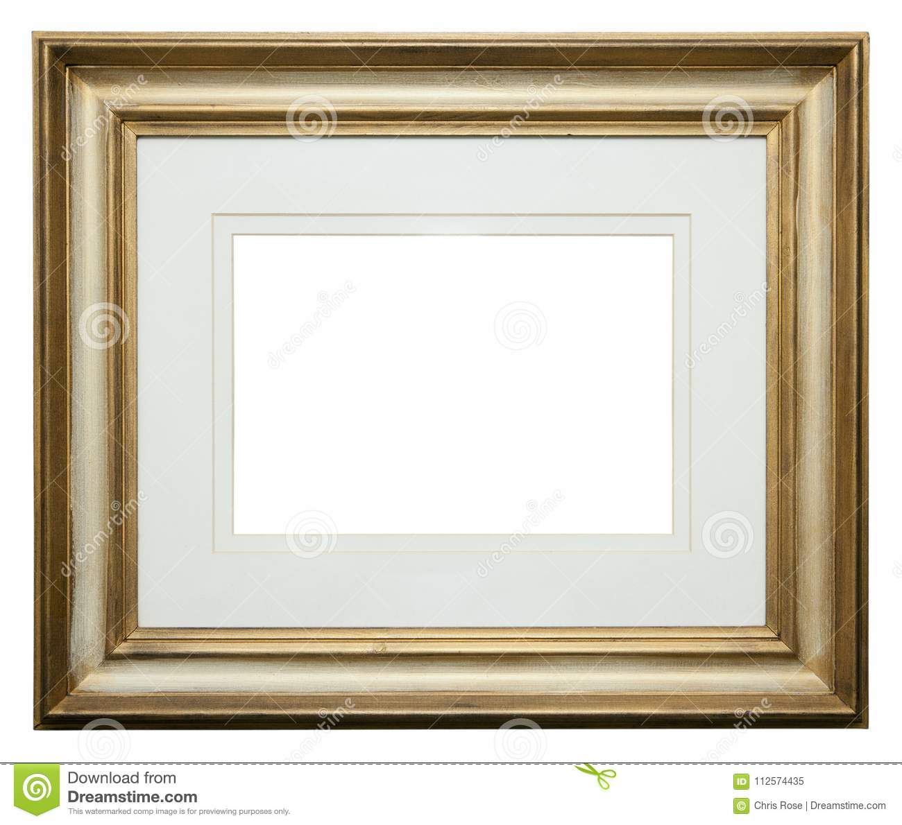 2b8516d2302 Empty picture frame stock image. Image of painting