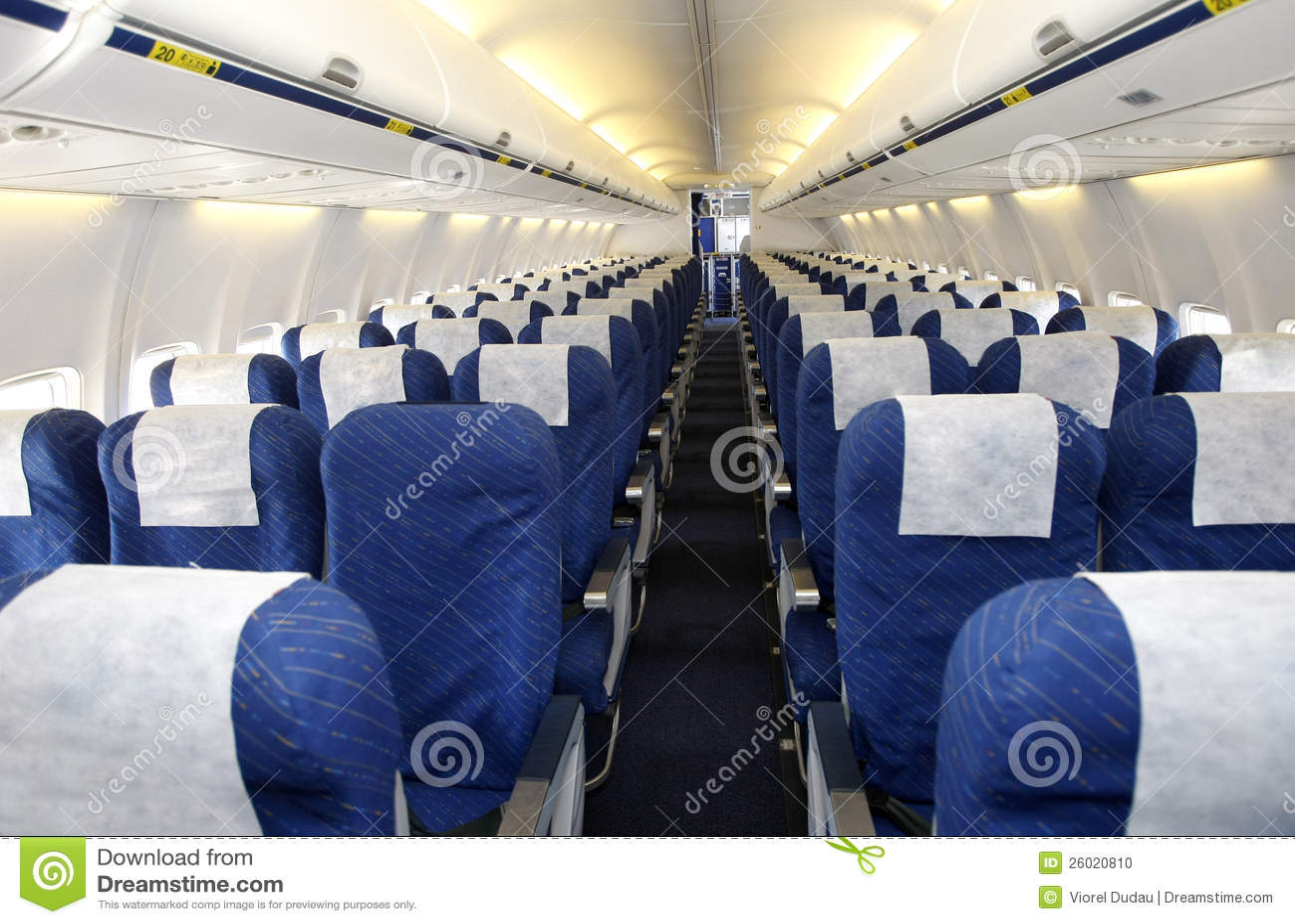 empty plane interior stock photo image of indoor corridor 26020810