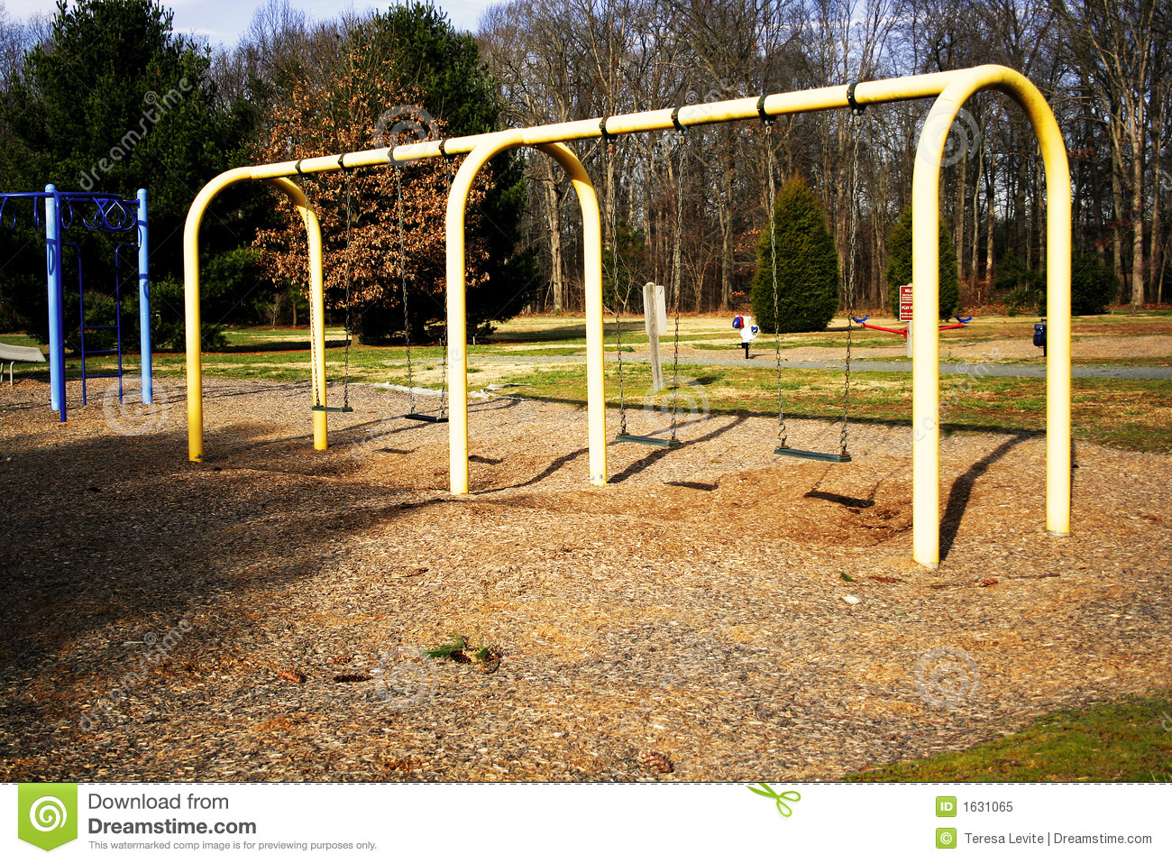 Empty Playground Royalty Free Stock Photo - Image: 1631065