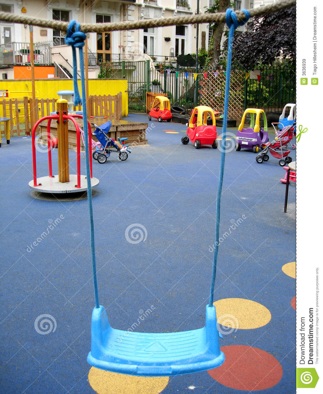 Empty Playground Royalty Free Stock Images - Image: 3636939