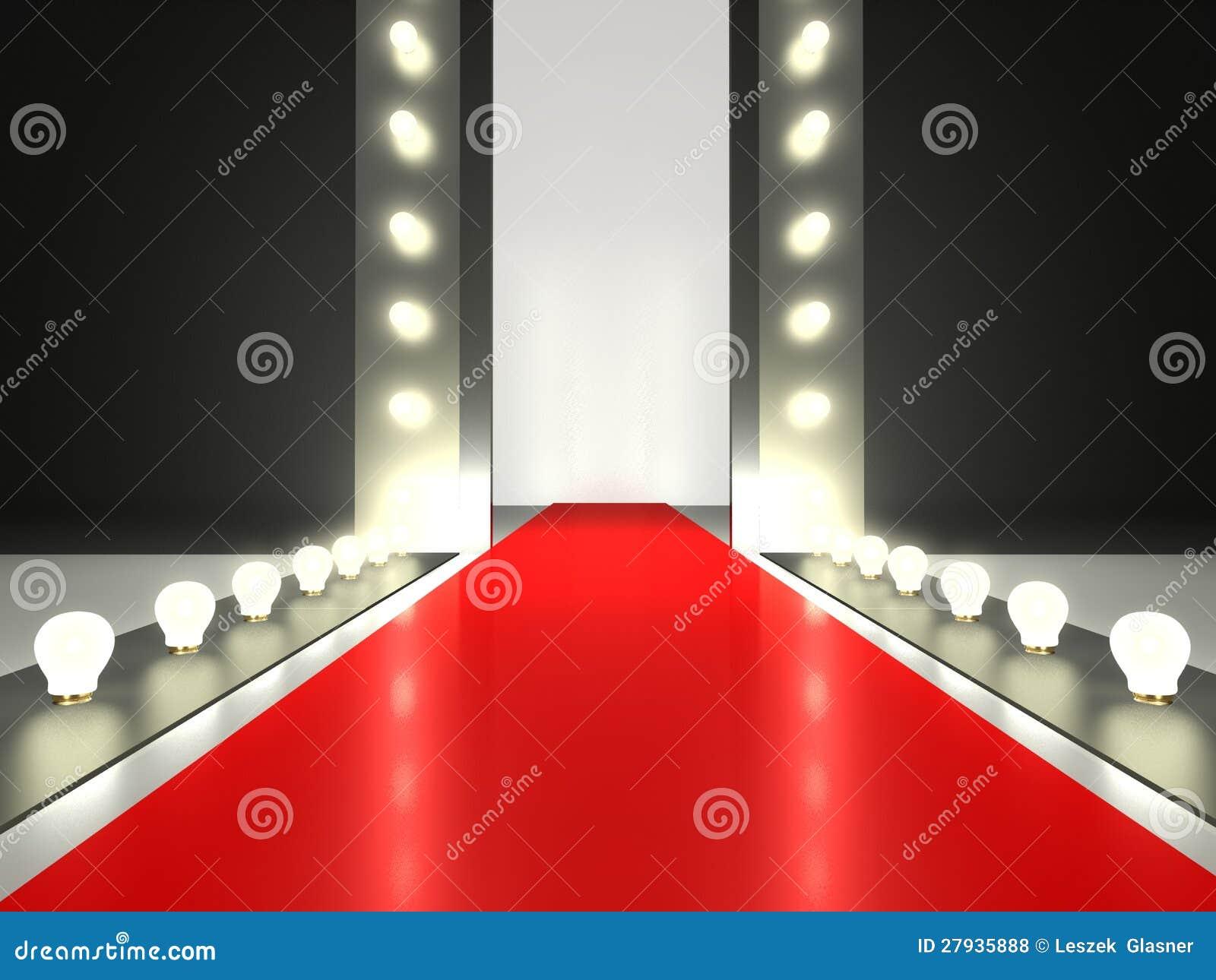 Empty Red Carpet  Fash...
