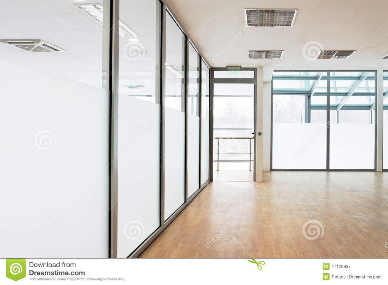 Empty Room Royalty Free Stock Photography Image 17129937