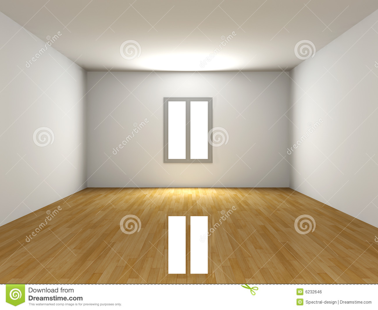 Empty Room Royalty Free Stock Image Image 6232646