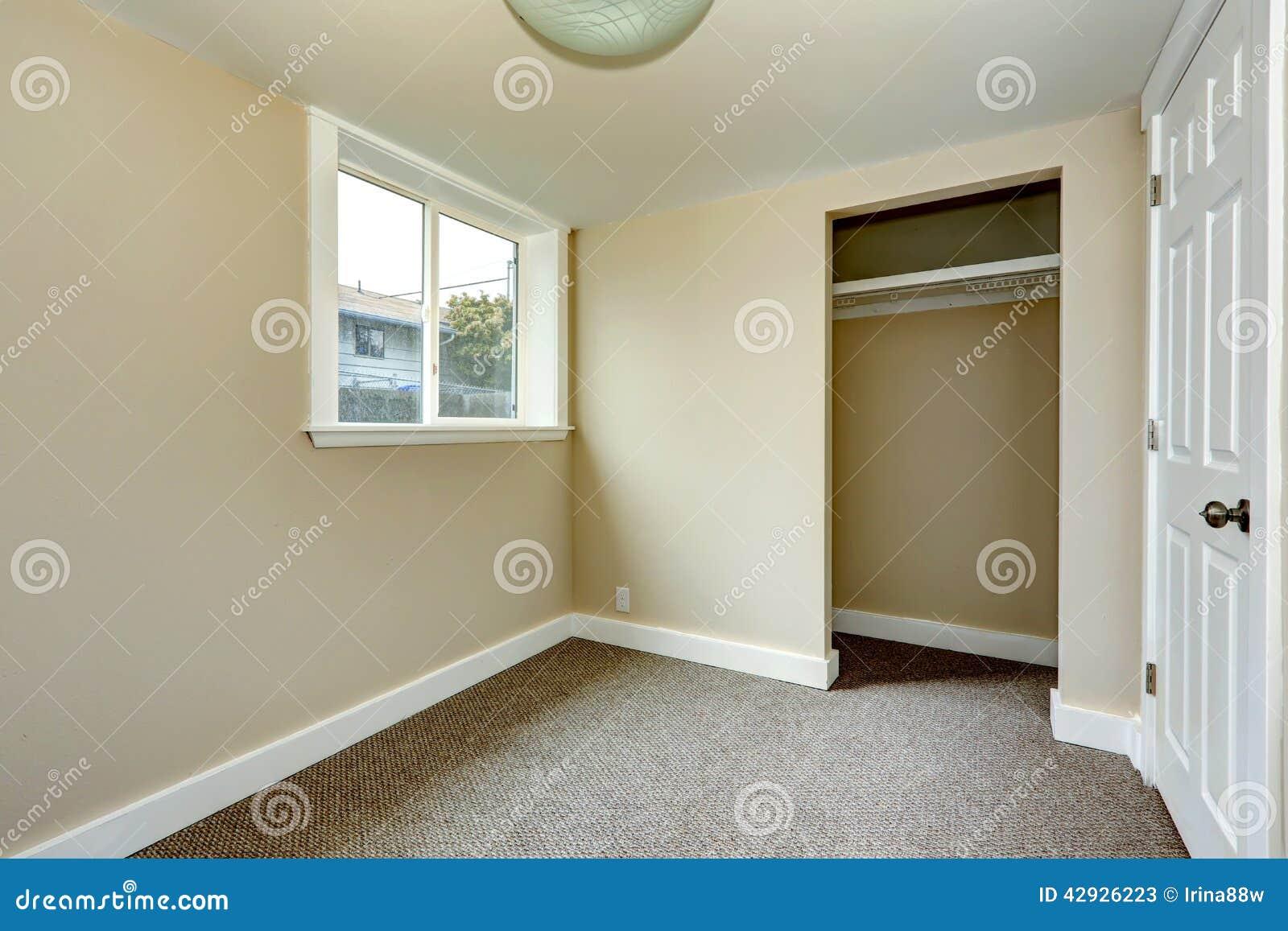 Empty Room With Closet