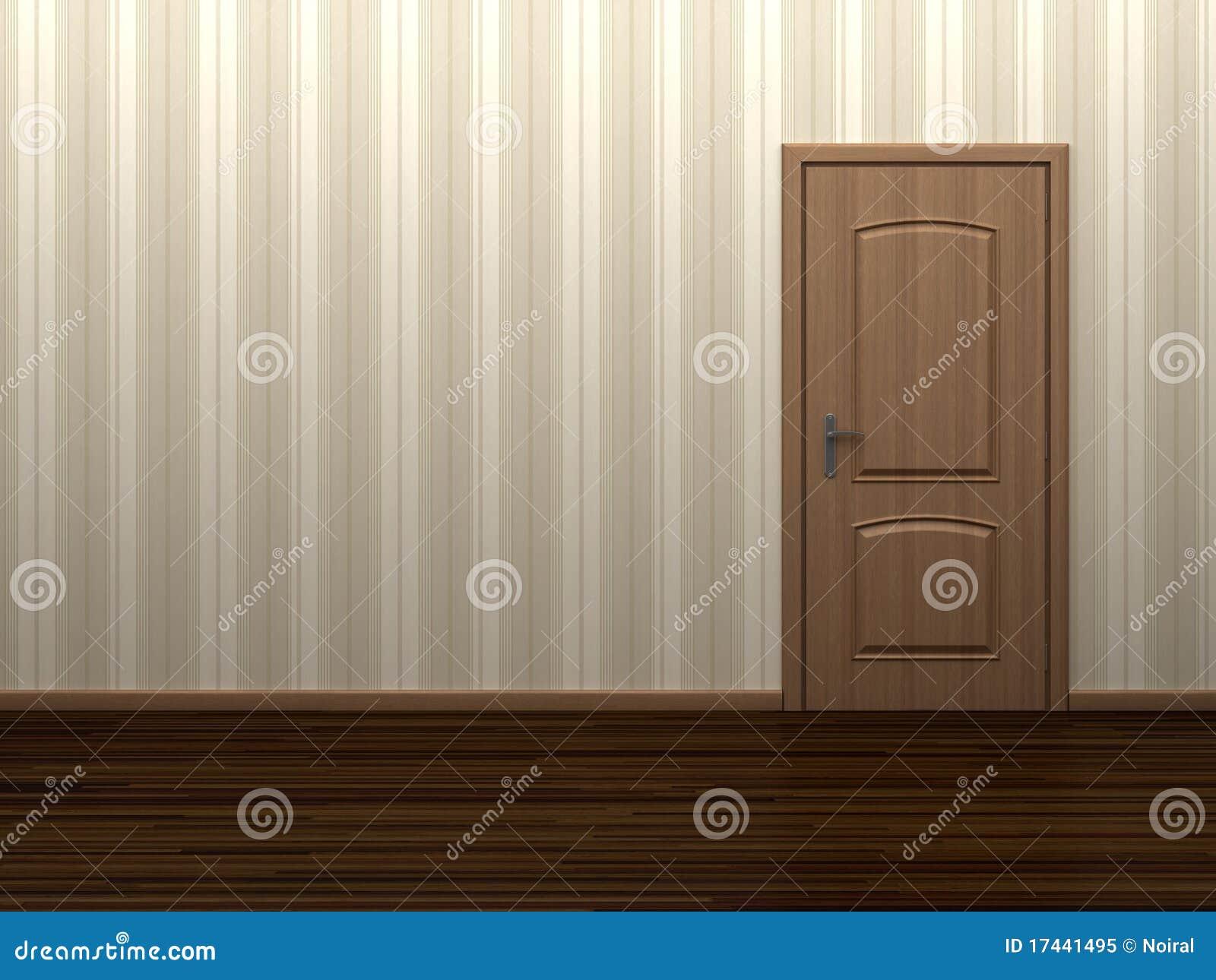 Stock Room Doors : Empty room with door royalty free stock photo image