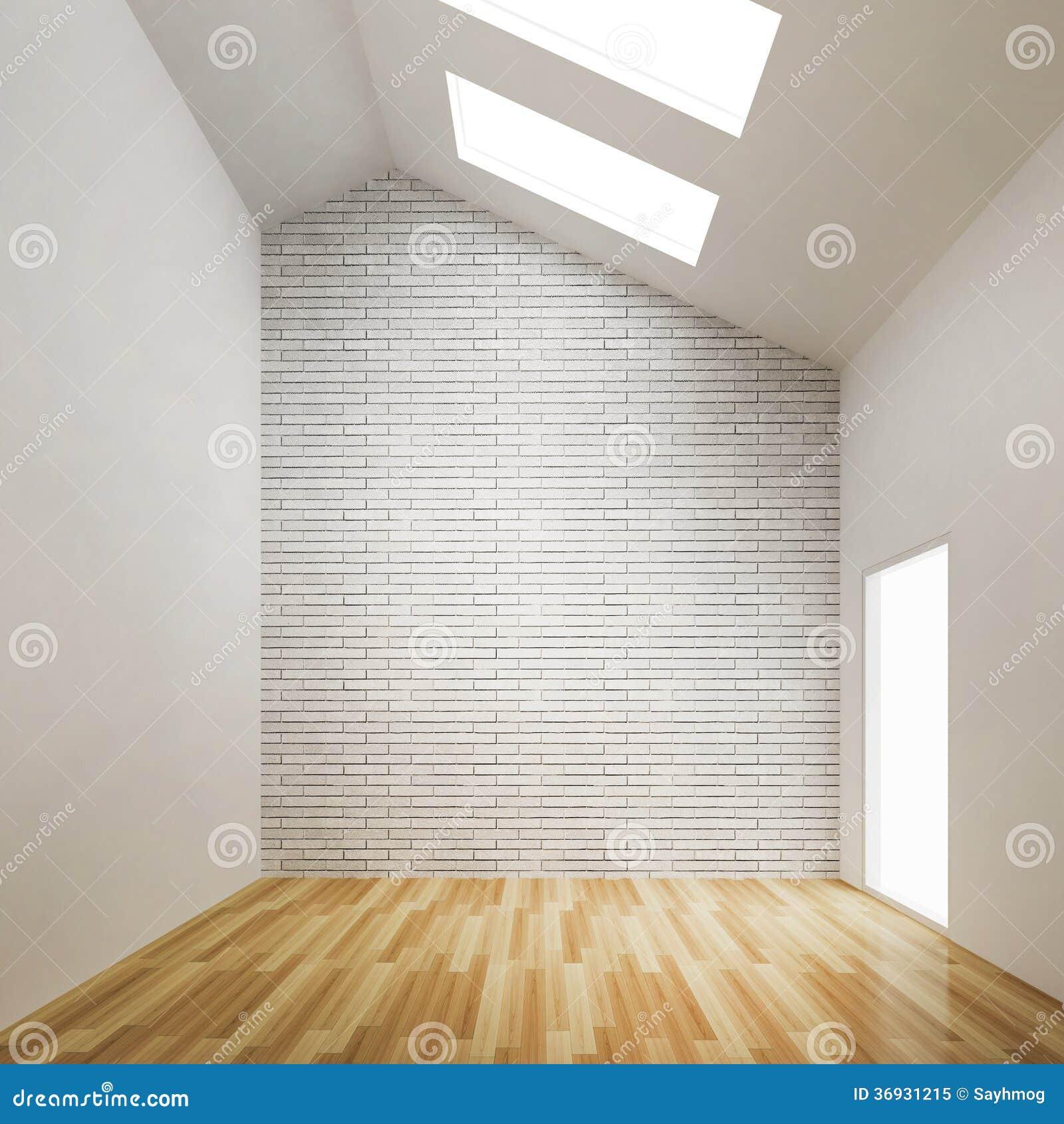 . Empty Room Of Interior Building Design Stock Illustration